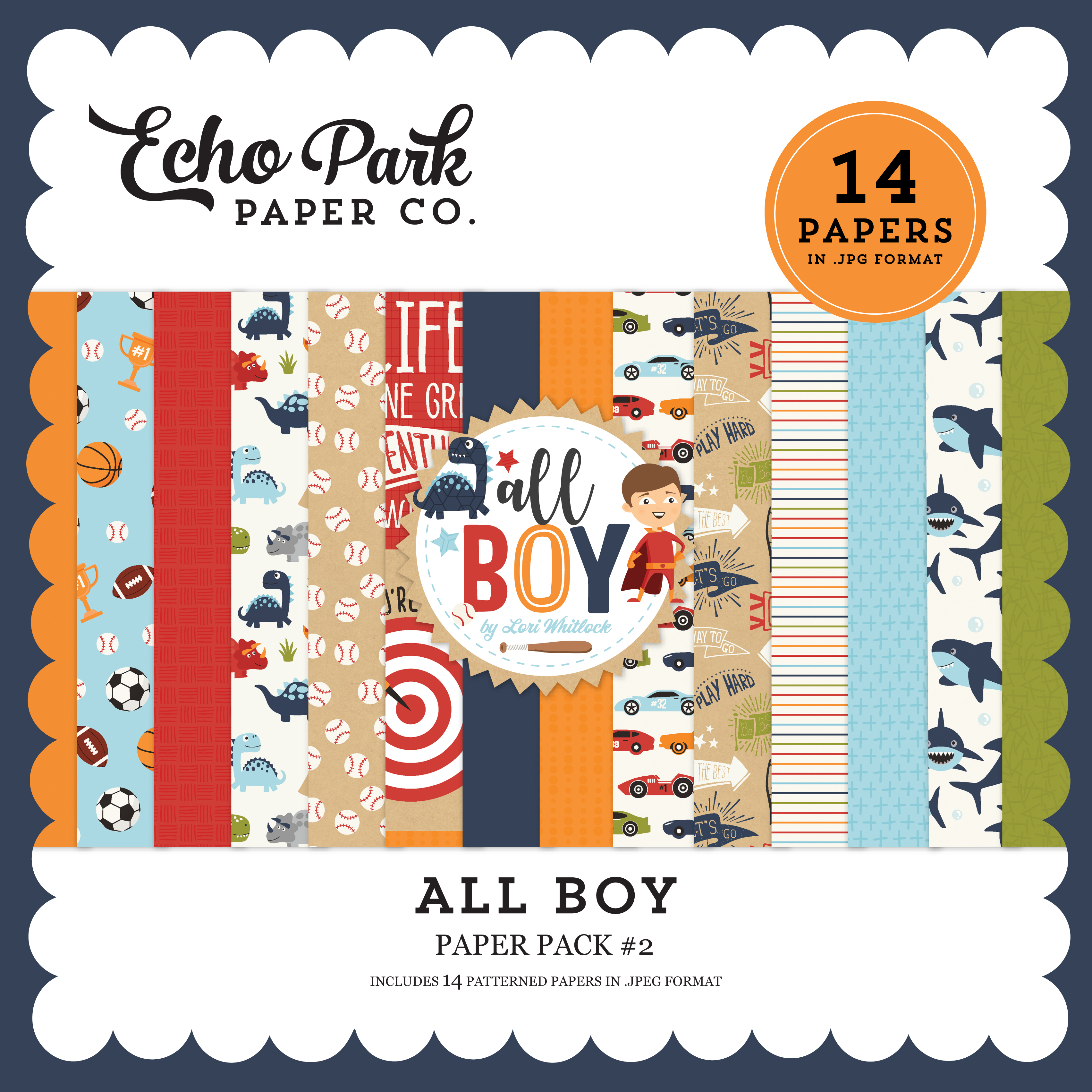 All Boy Paper Pack #2