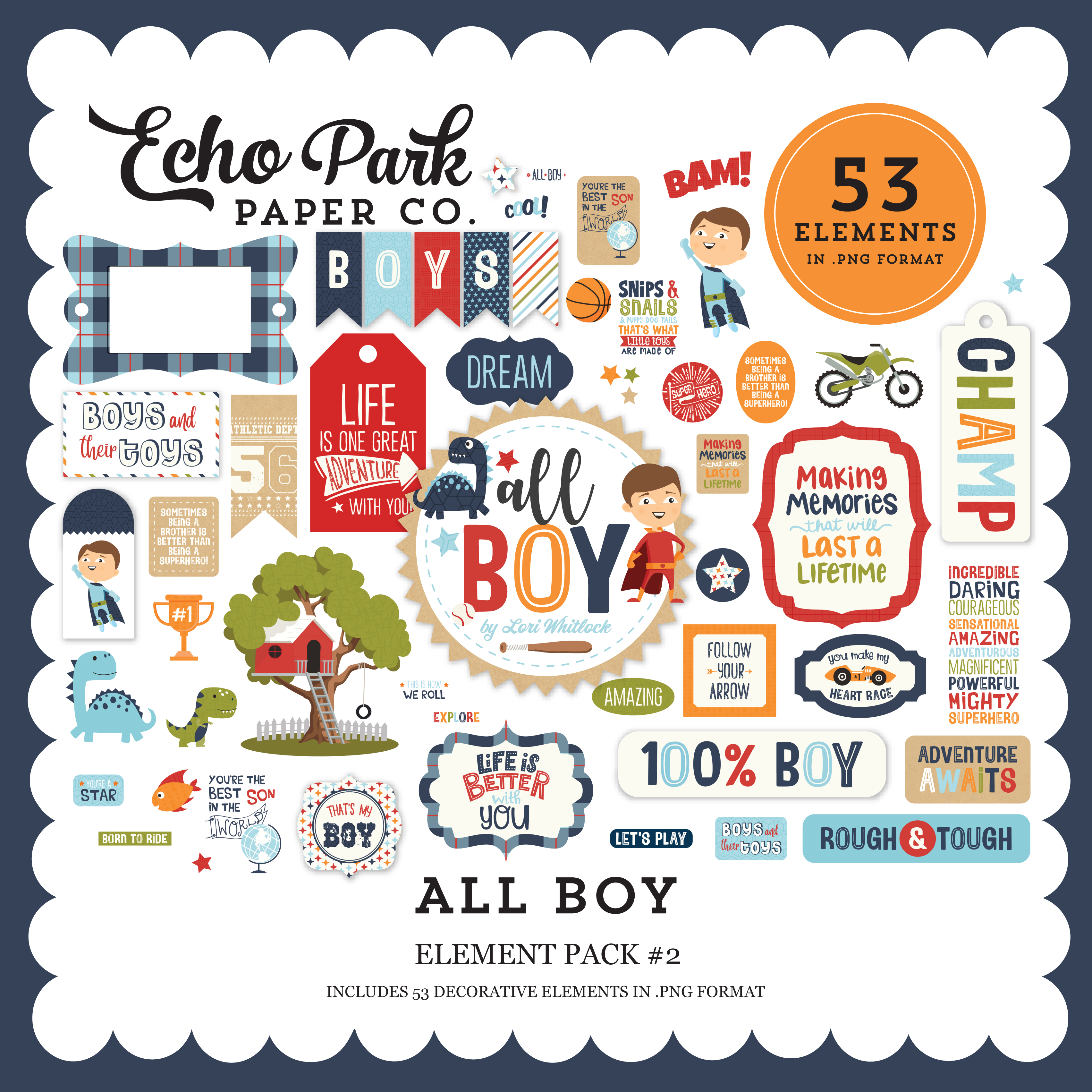 All Boy Element Pack #2