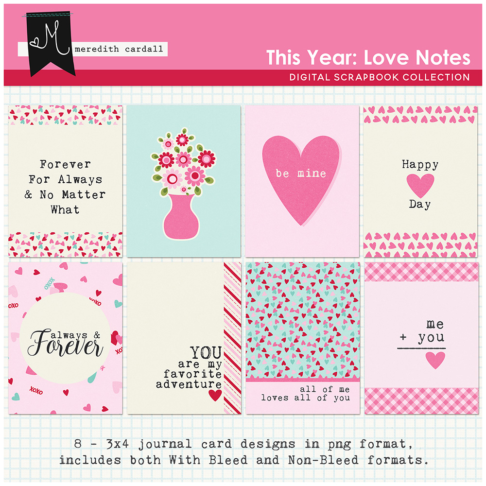 This Year: Love Notes Cards