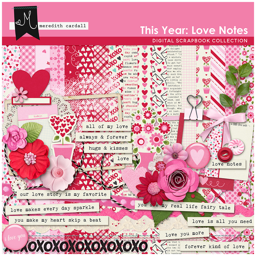This Year: Love Notes Kit