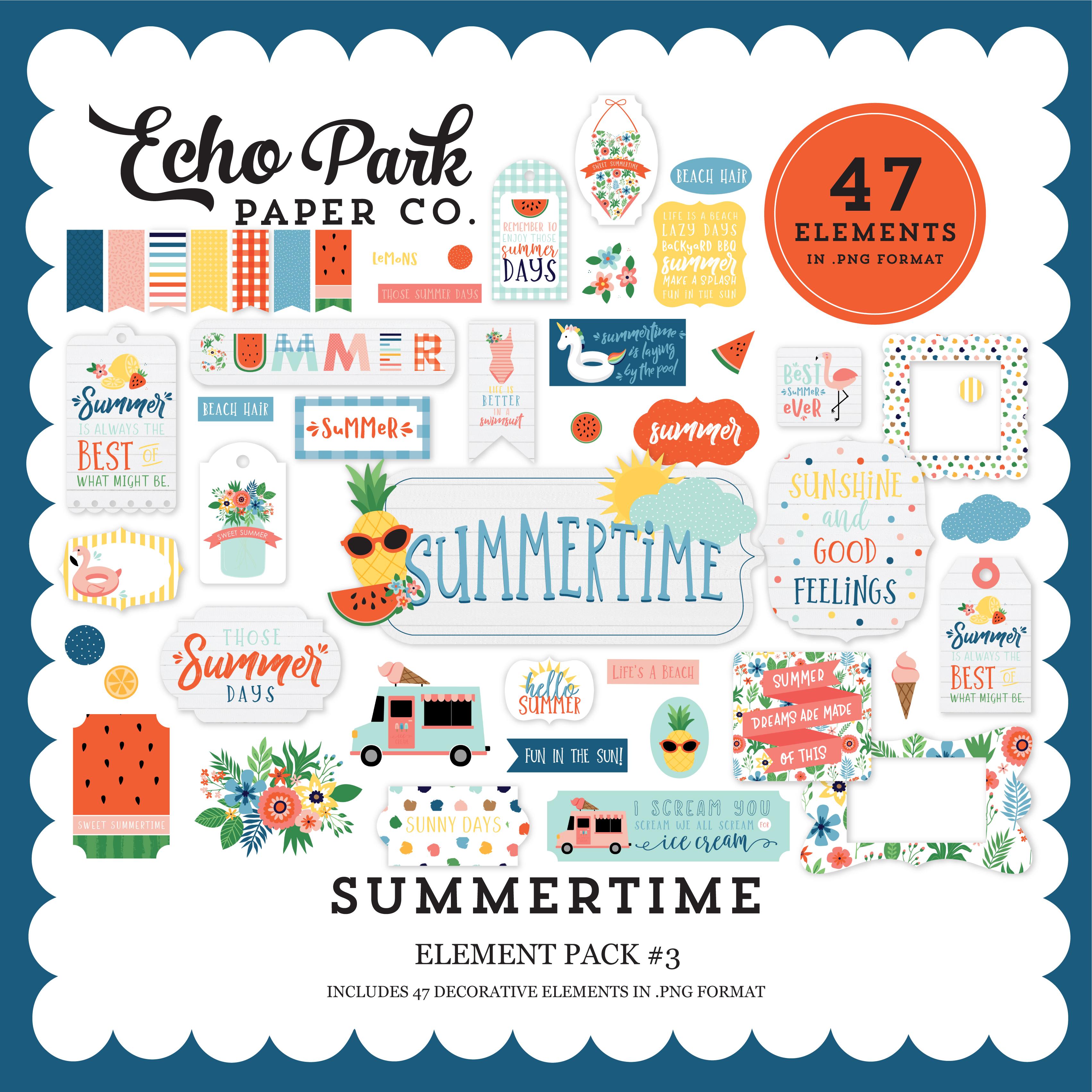Summertime Element Pack #3