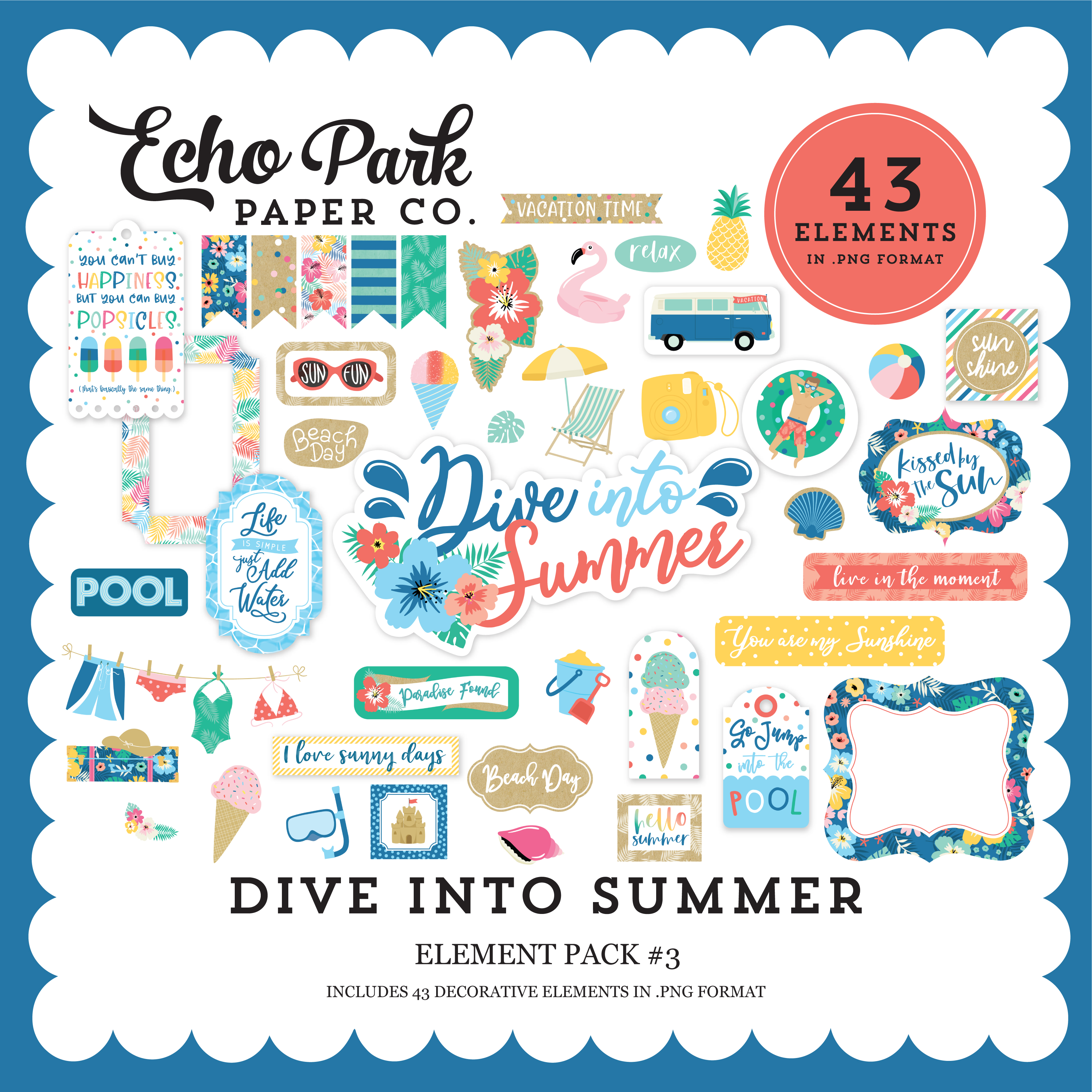 Dive Into Summer Element Pack #3