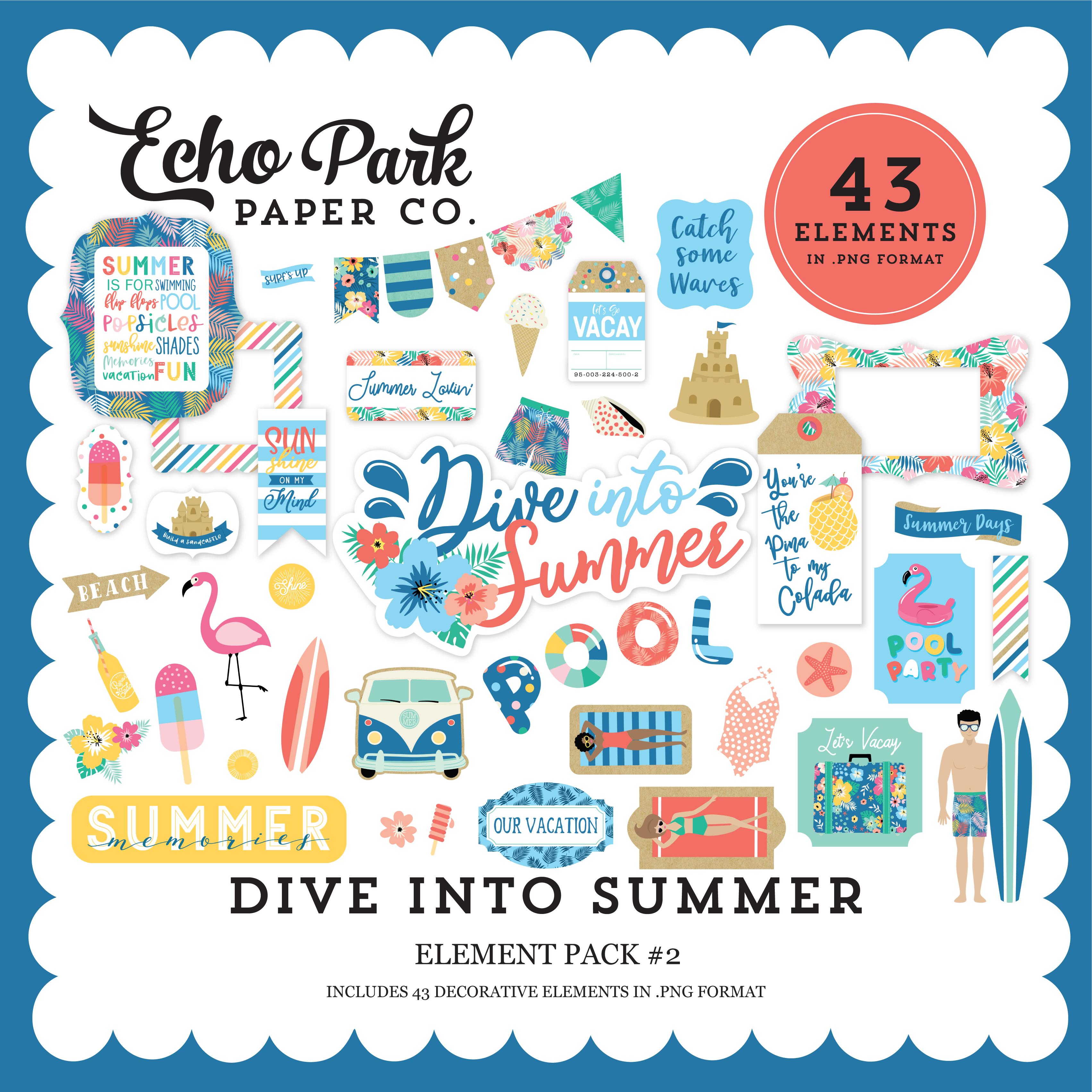 Dive Into Summer Mega Collection