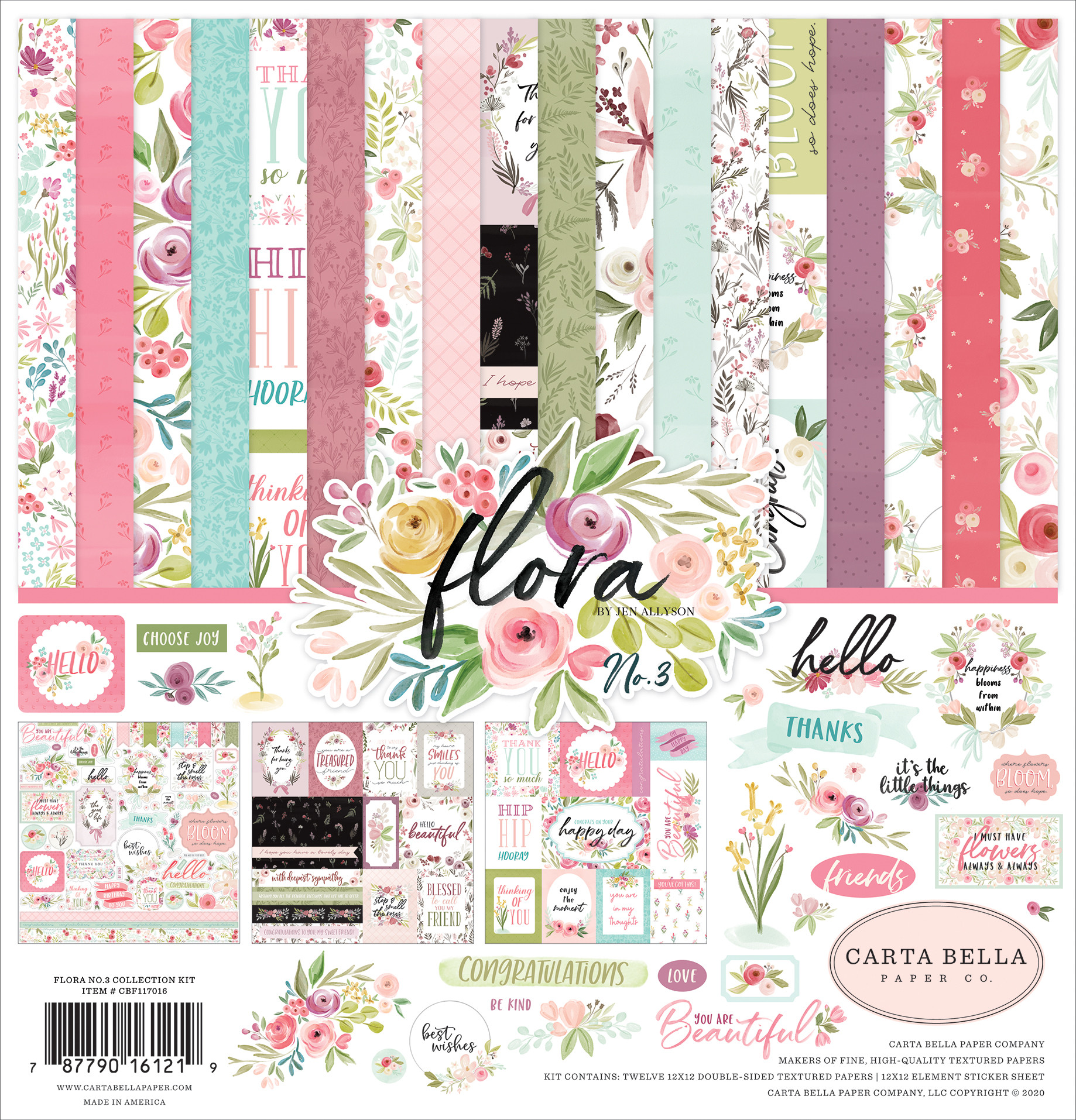 Flora No. 3 Collection Kit