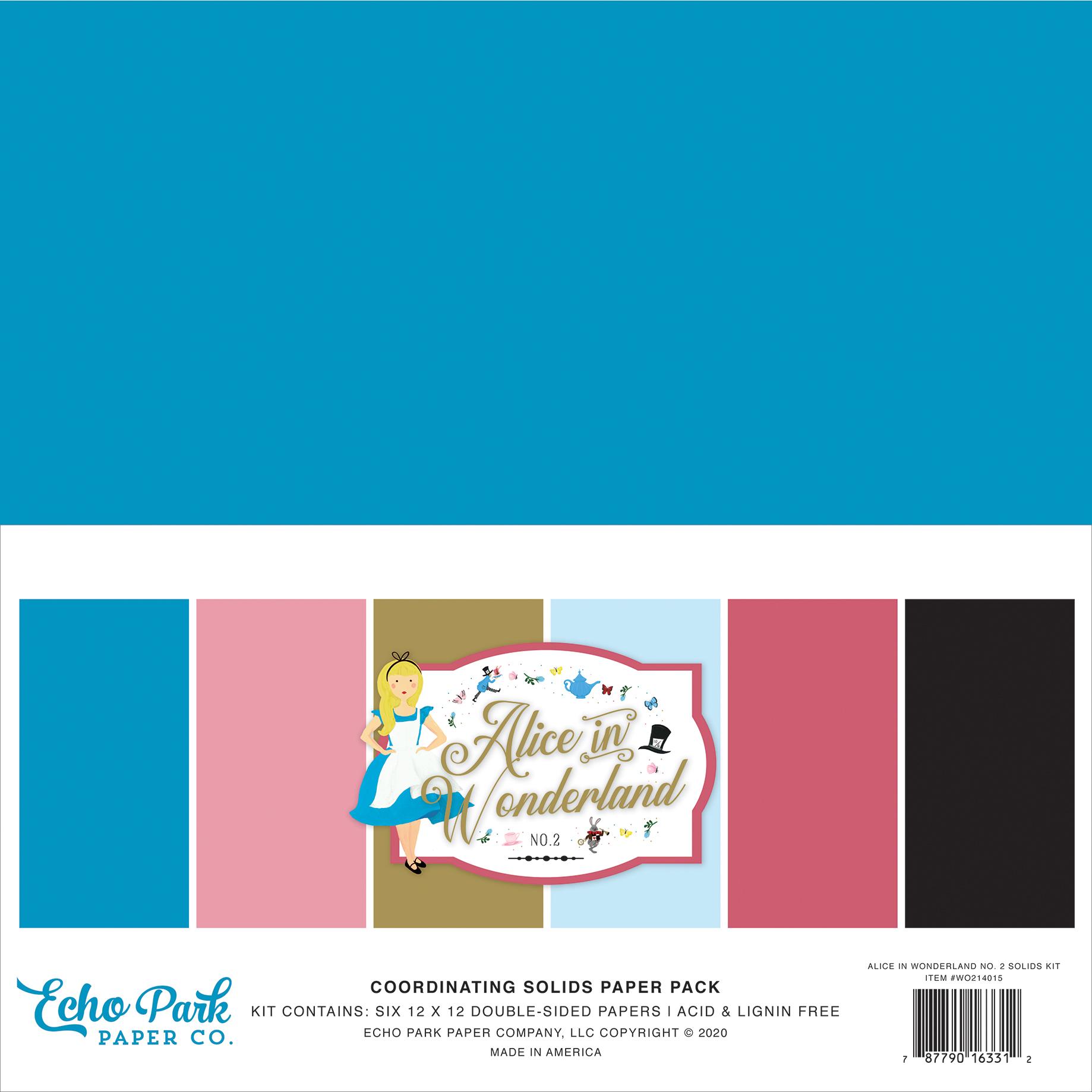 Alice In Wonderland No. 2 Solids Kit