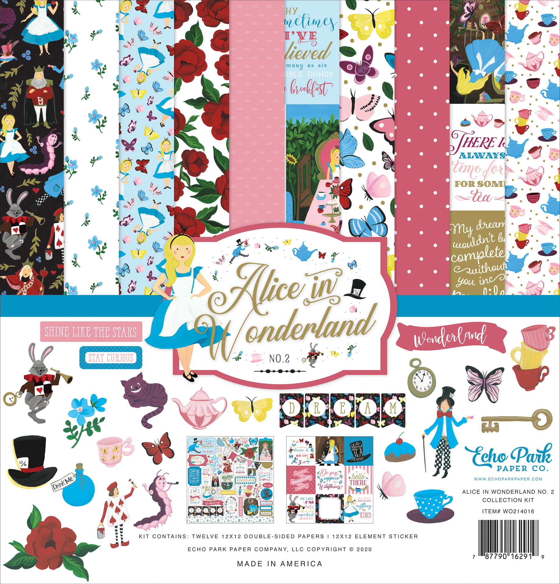 Alice In Wonderland No. 2 Collection Kit