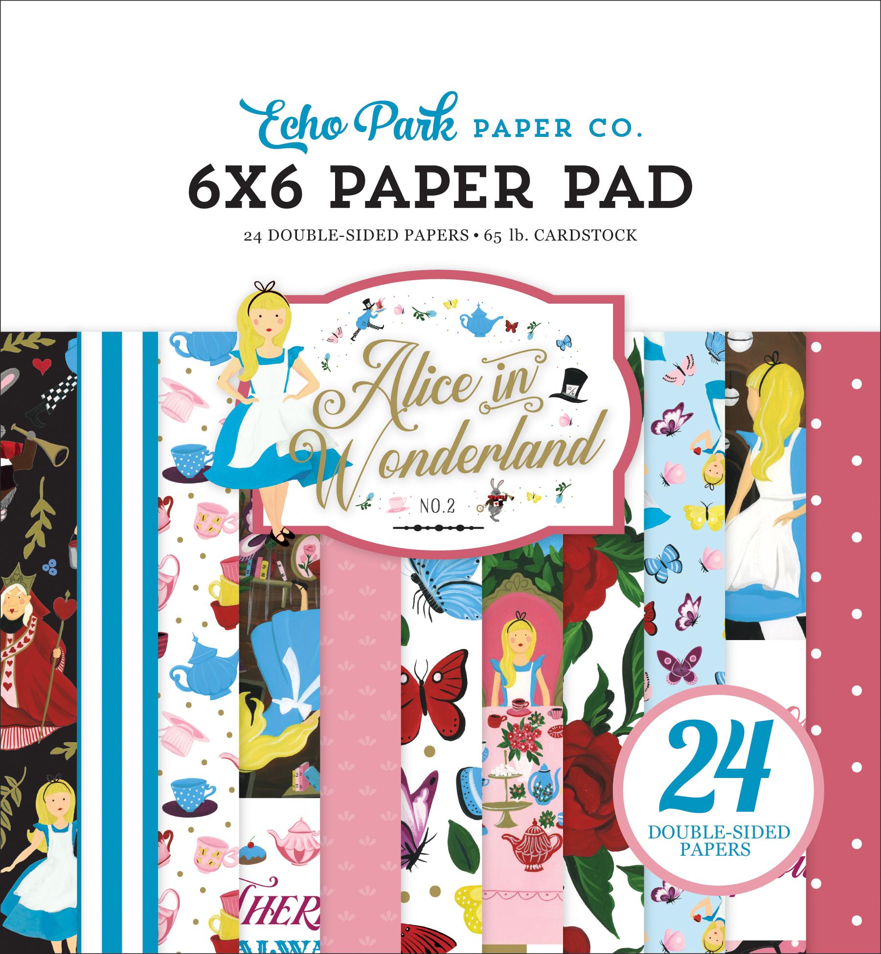 Alice In Wonderland No. 2 6x6 Paper Pad