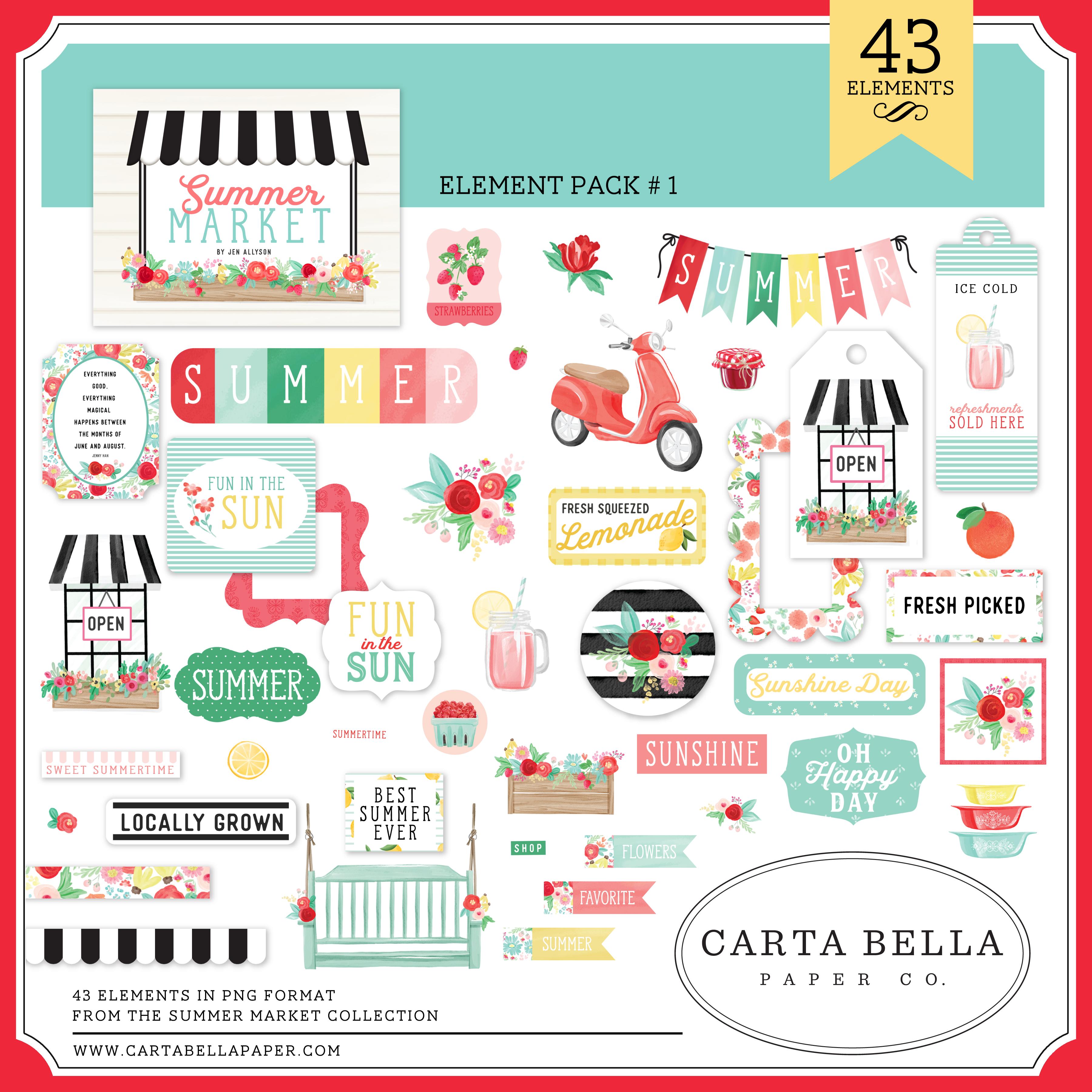 Summer Market Mega Collection