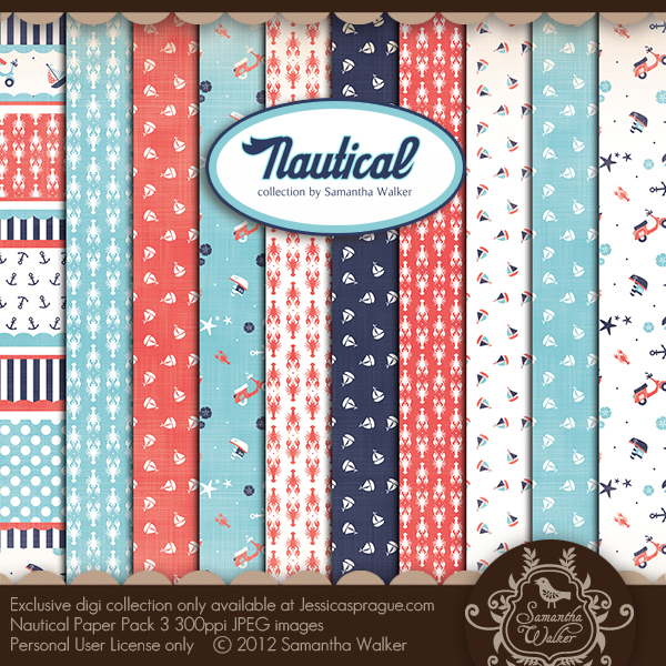 Nautical Paper Collection 3