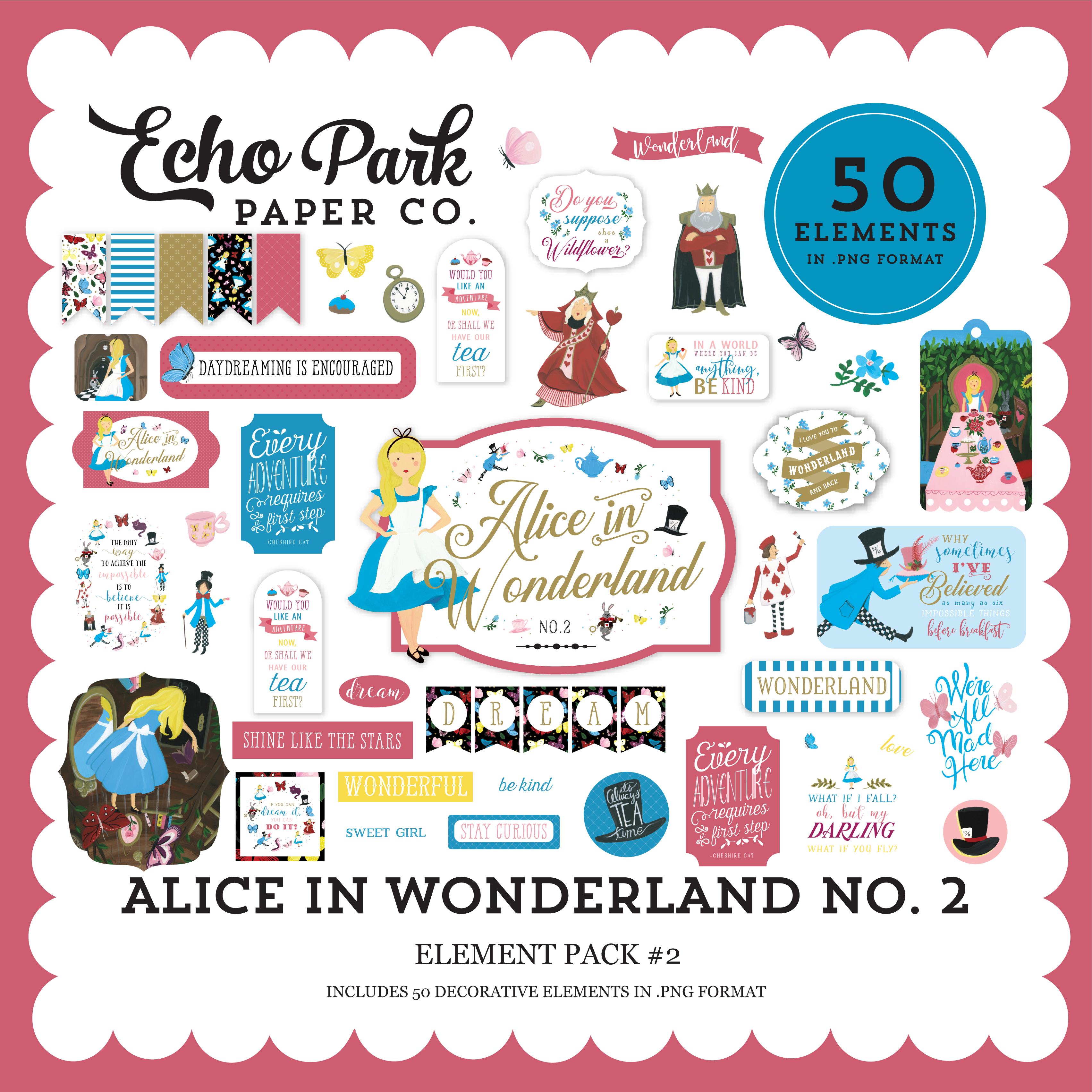 Alice in Wonderland No. 2 Element Pack #2