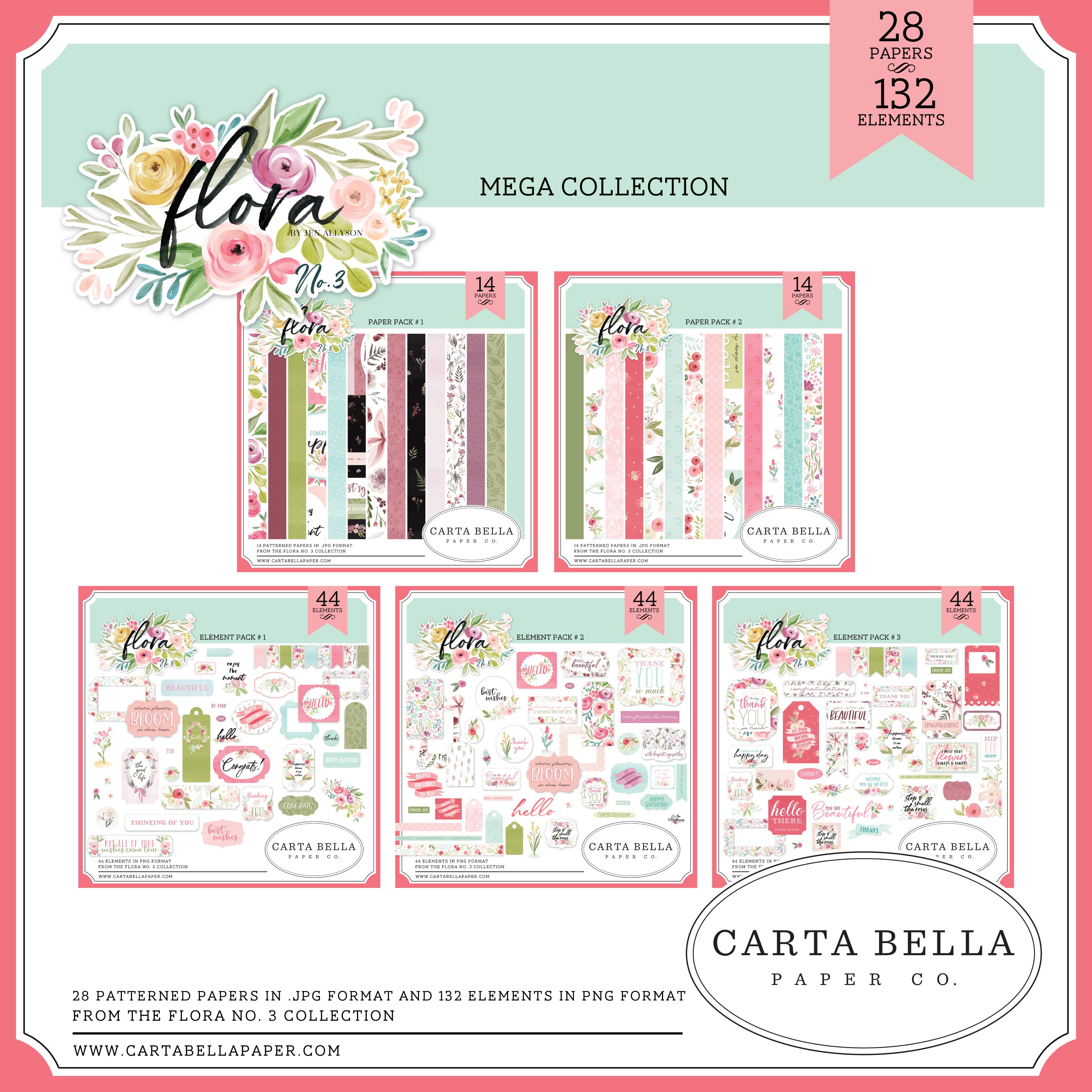 Flora No. 3 Mega Collection