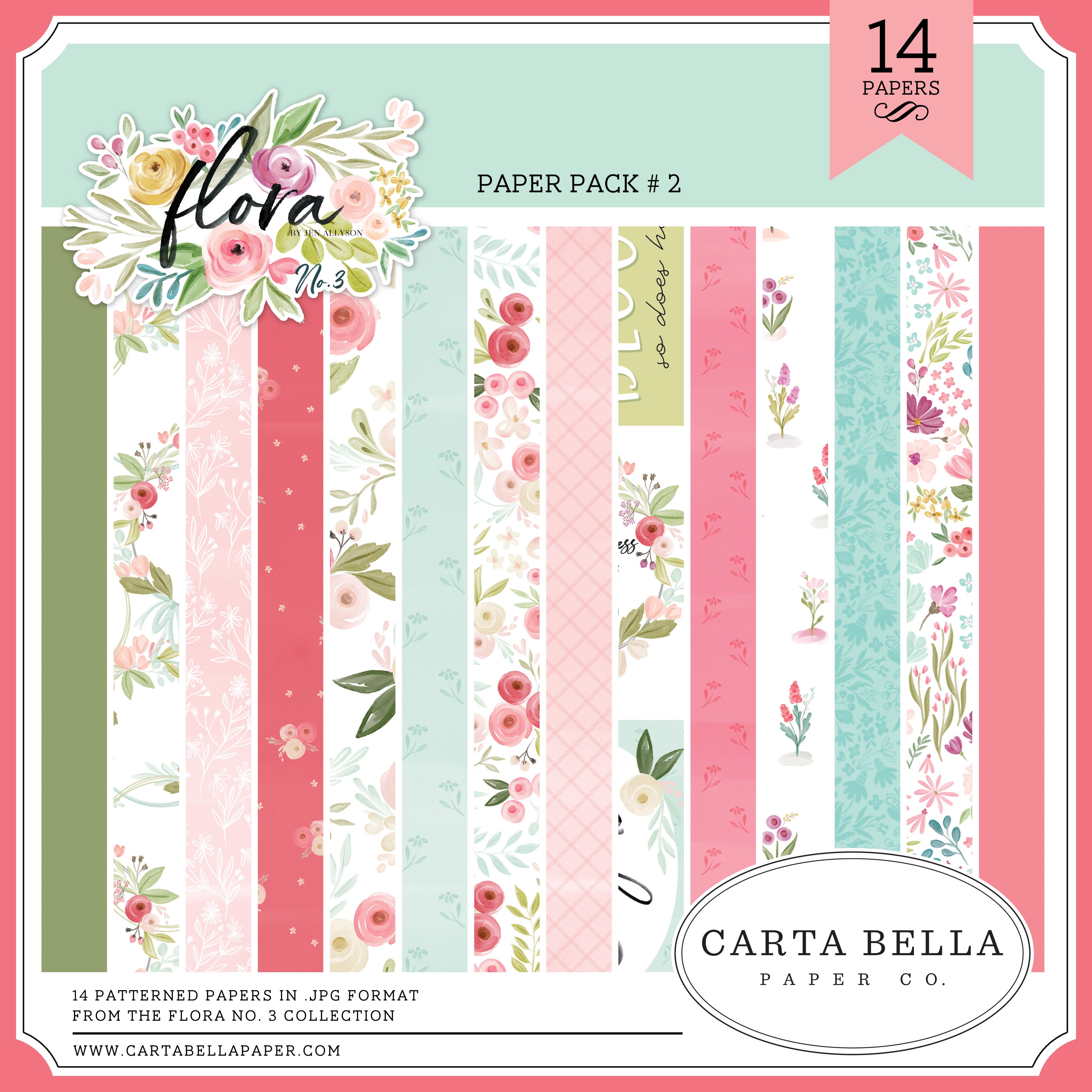 Flora No. 3 Paper Pack #2