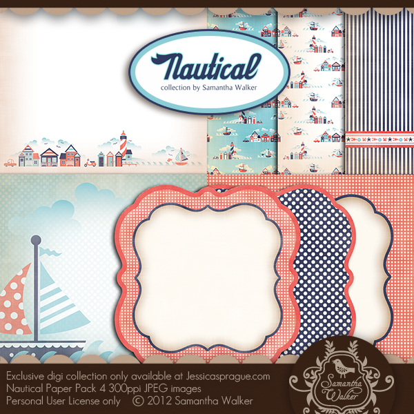 Nautical Paper Collection 4