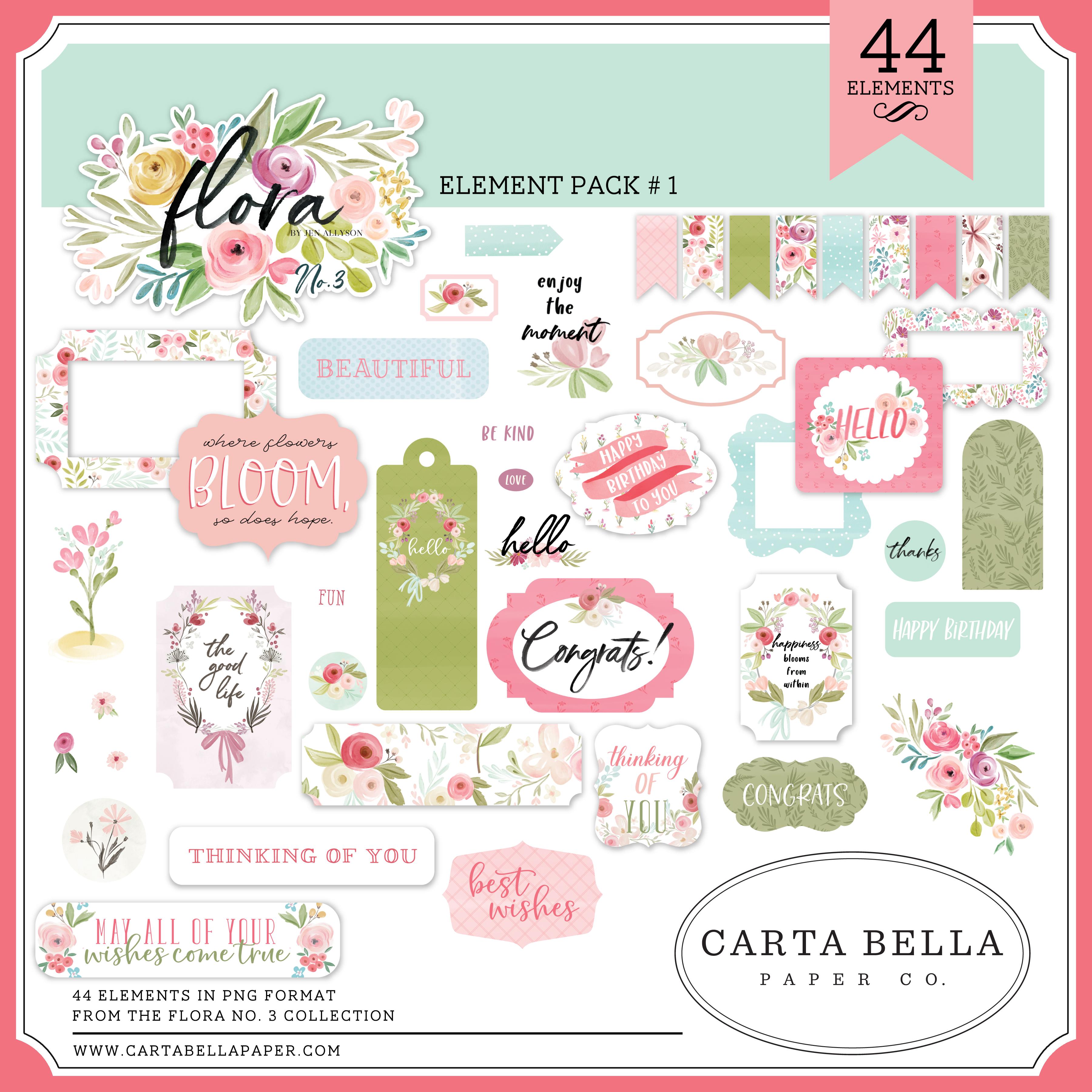 Flora No. 3 Element Pack #1