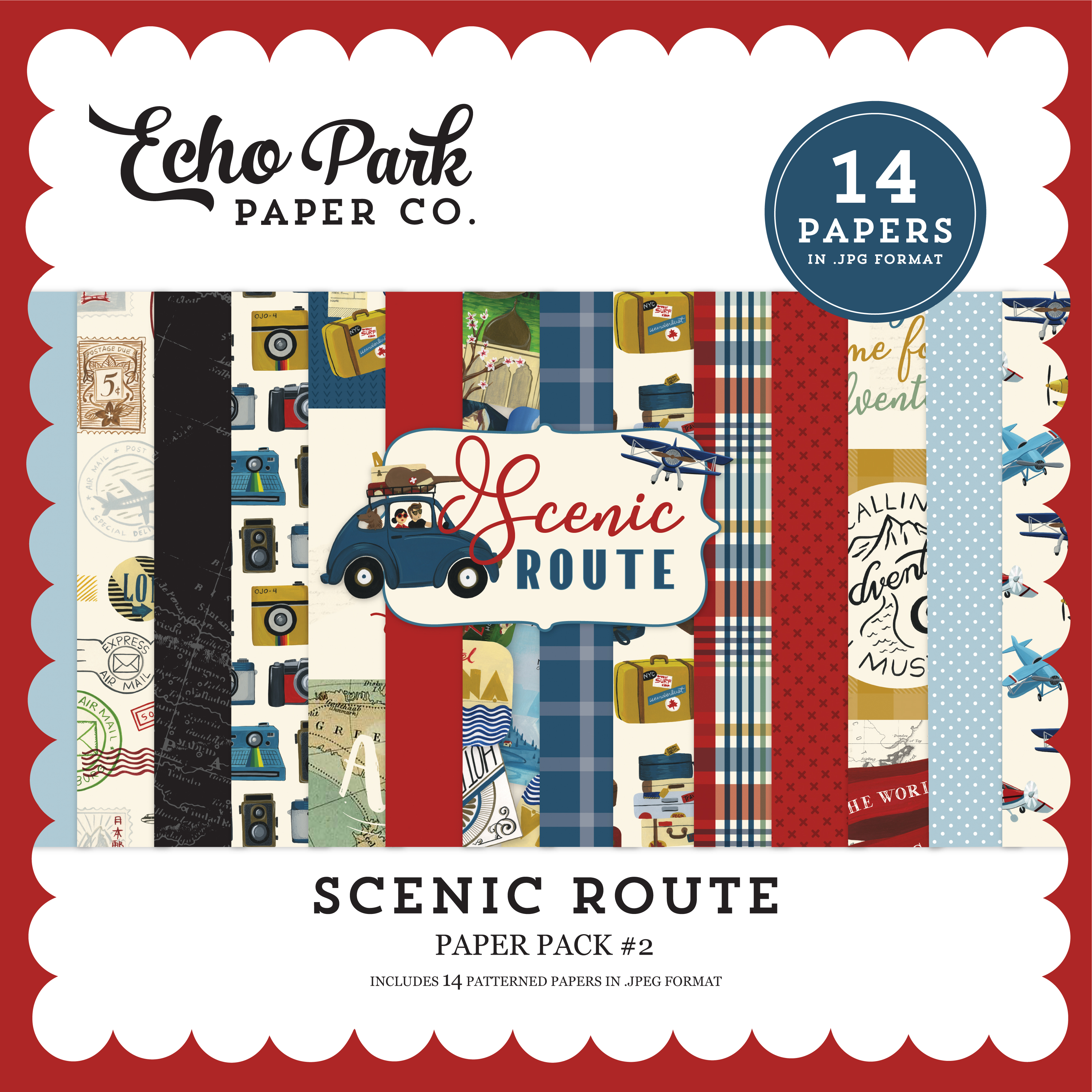 Scenic Route Paper Pack #2