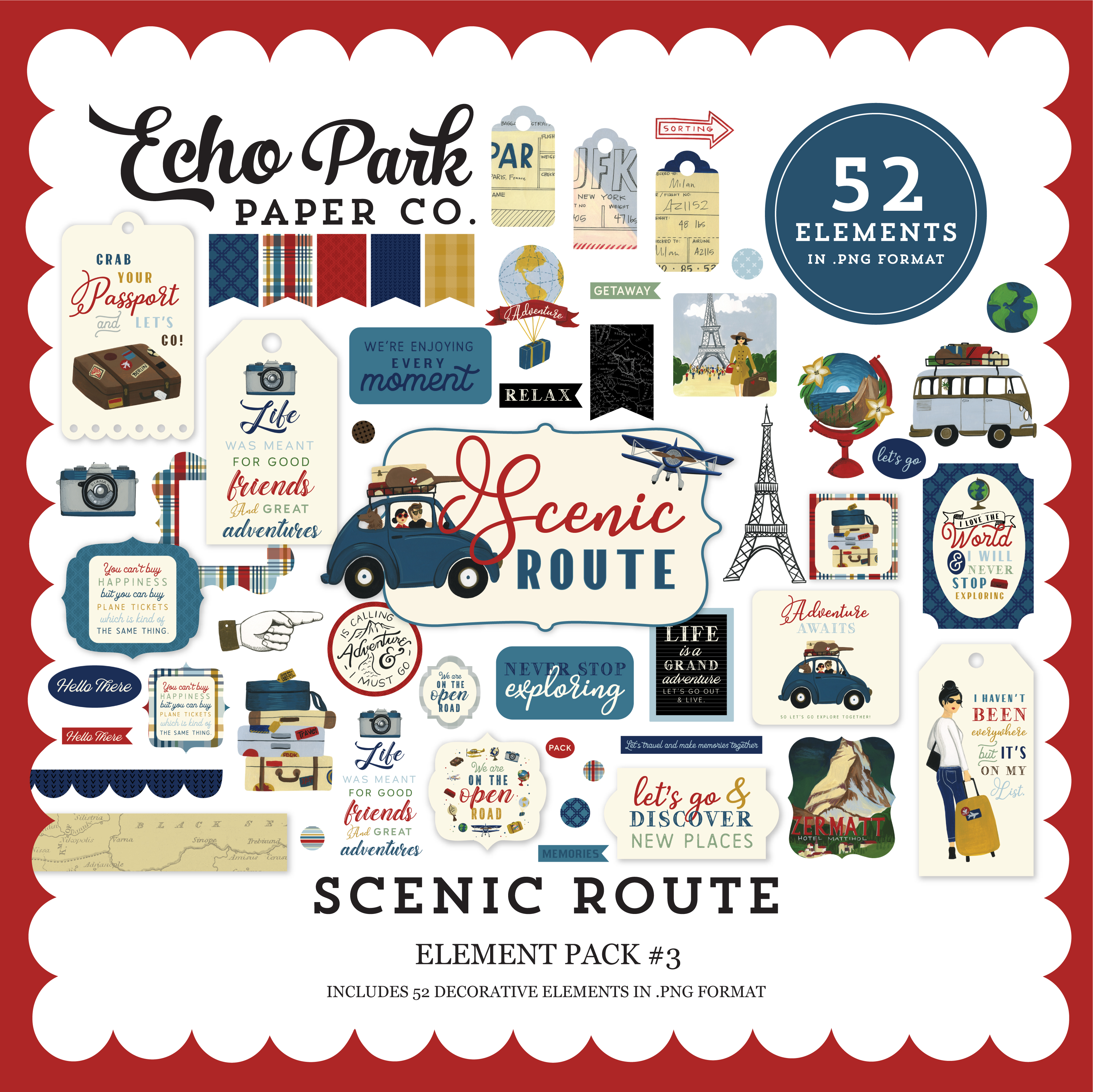 Scenic Route Element Pack #3