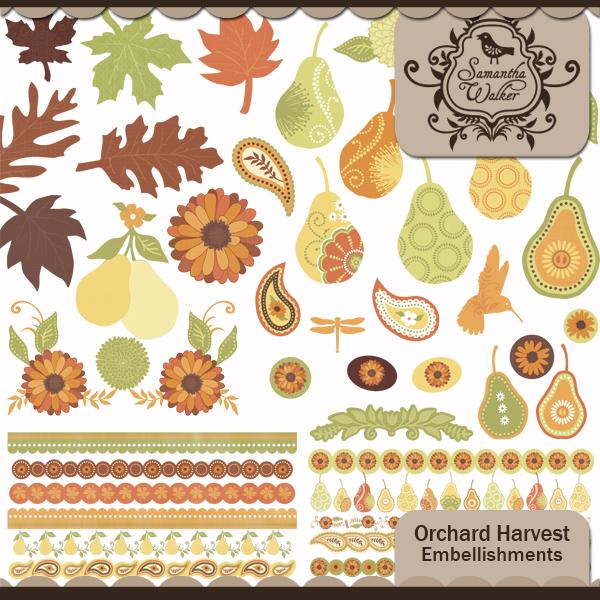 Orchard Harvest Embellishments