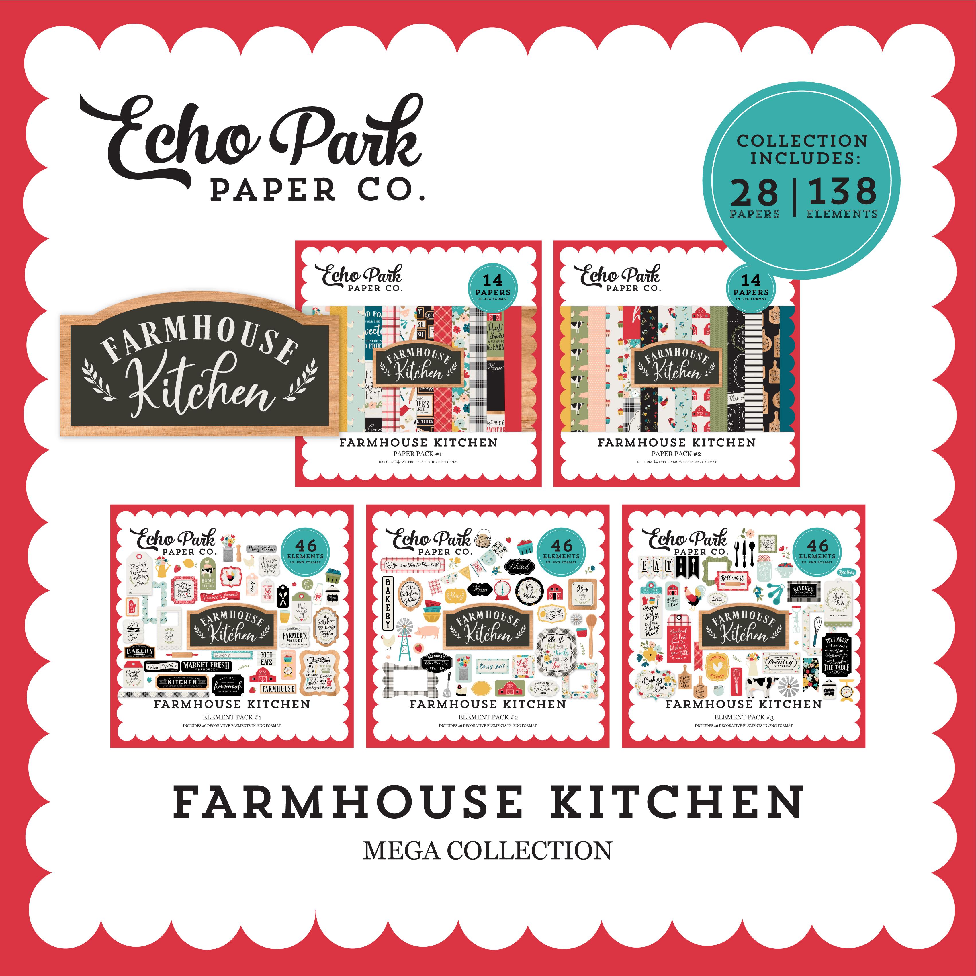 Farmhouse Kitchen Mega Collection