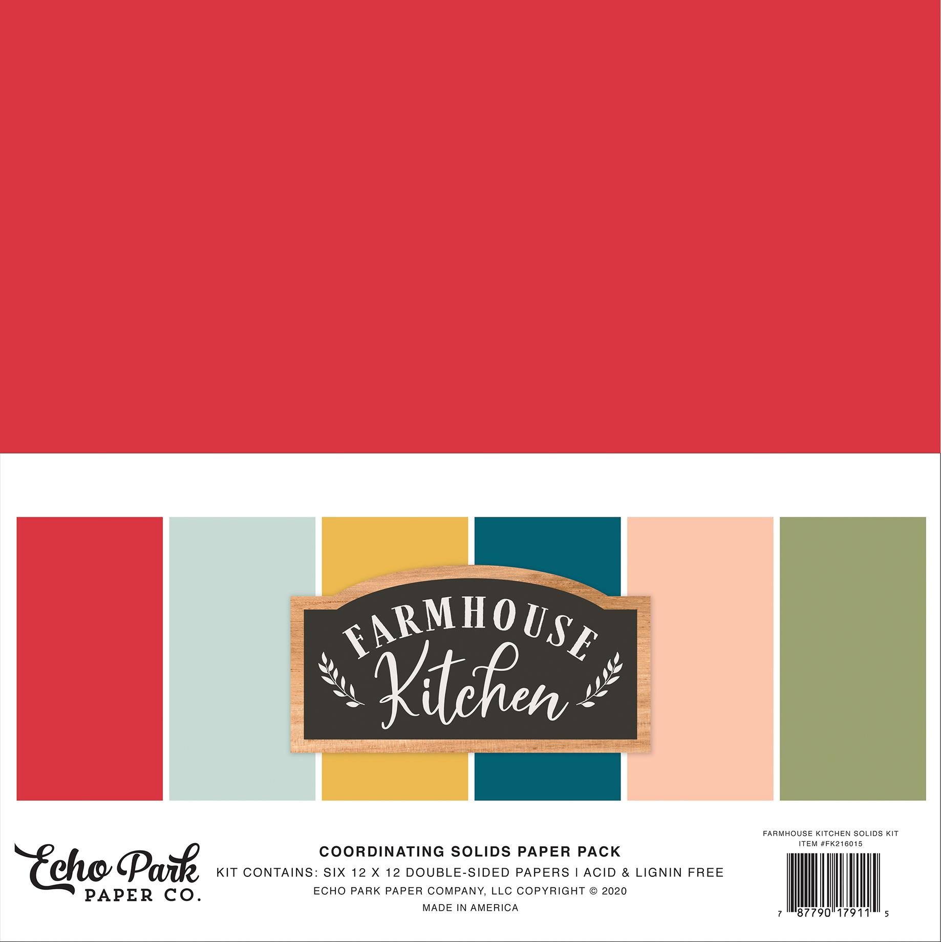 Farmhouse Kitchen Solids Kit