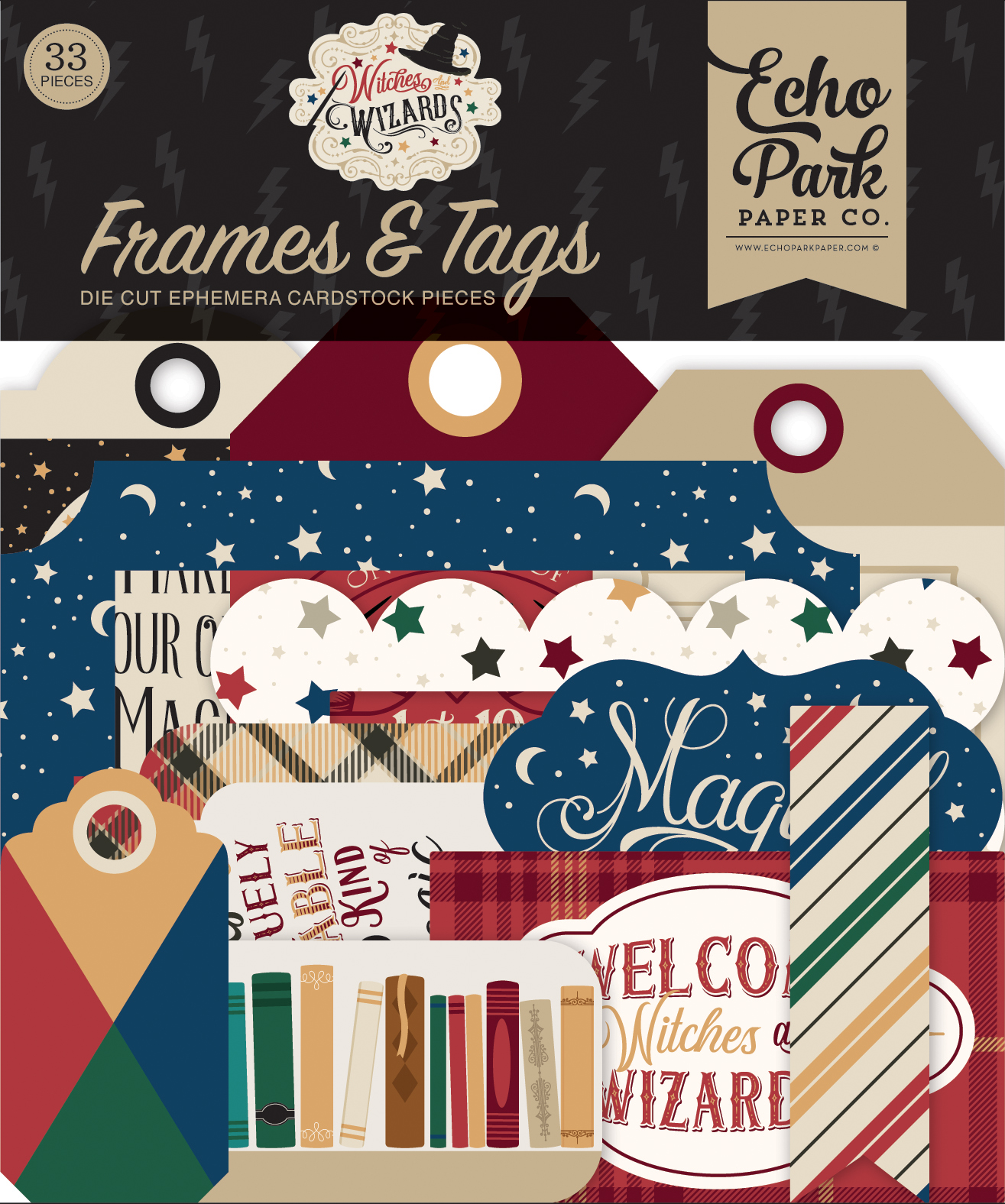 Witches & Wizards Frames & Tags