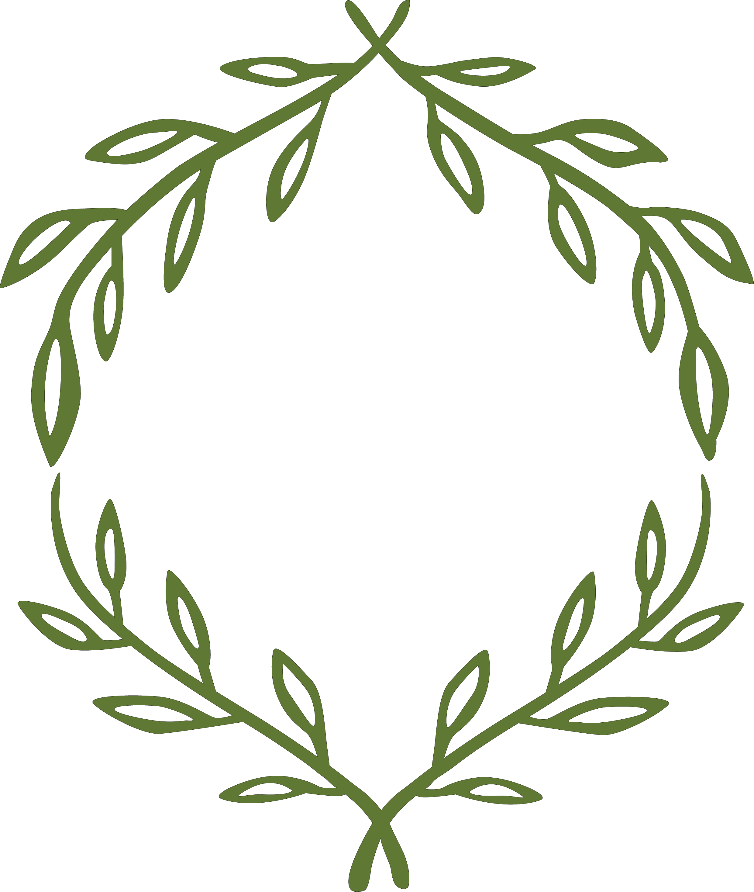 Leaves SVG Cut File