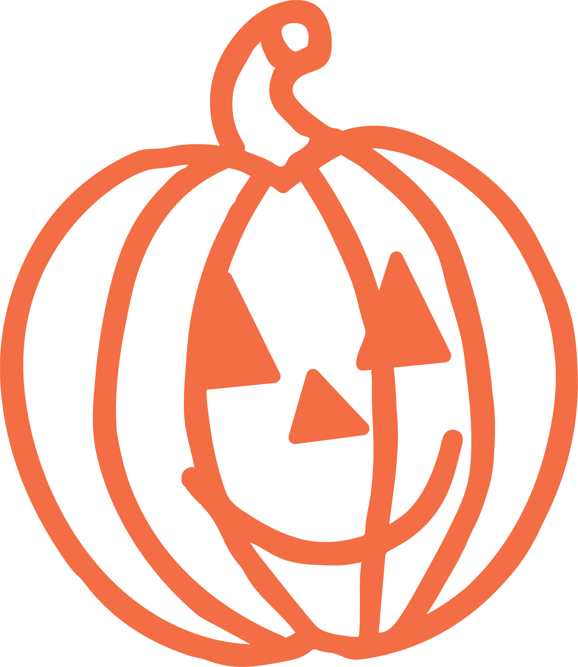 Happy Halloween Pumpkin 2 SVG Cut File