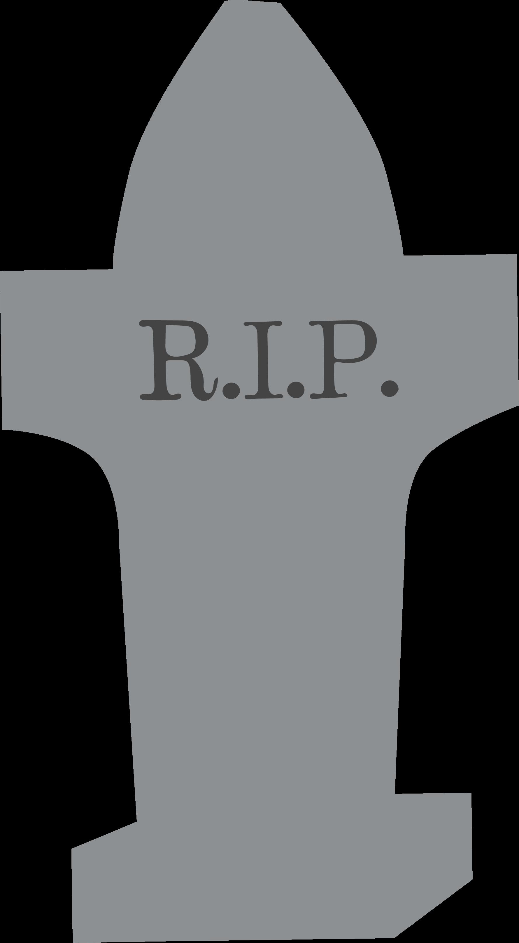 R.I.P. SVG Cut File
