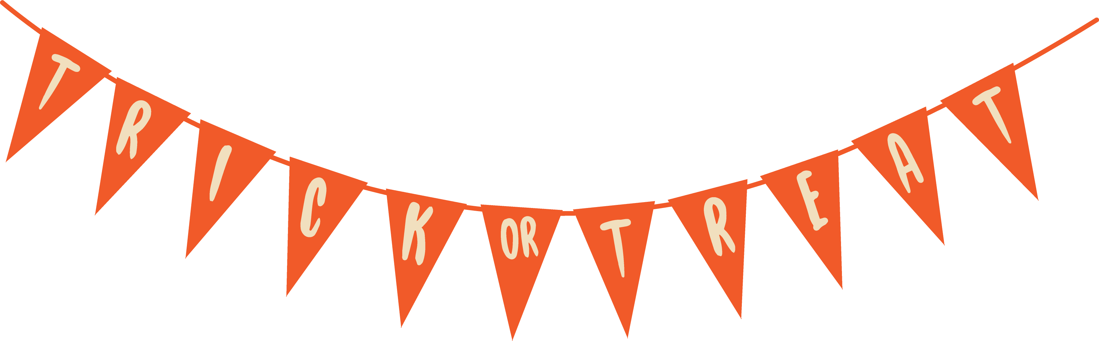 Trick or Treat Banner SVG Cut File