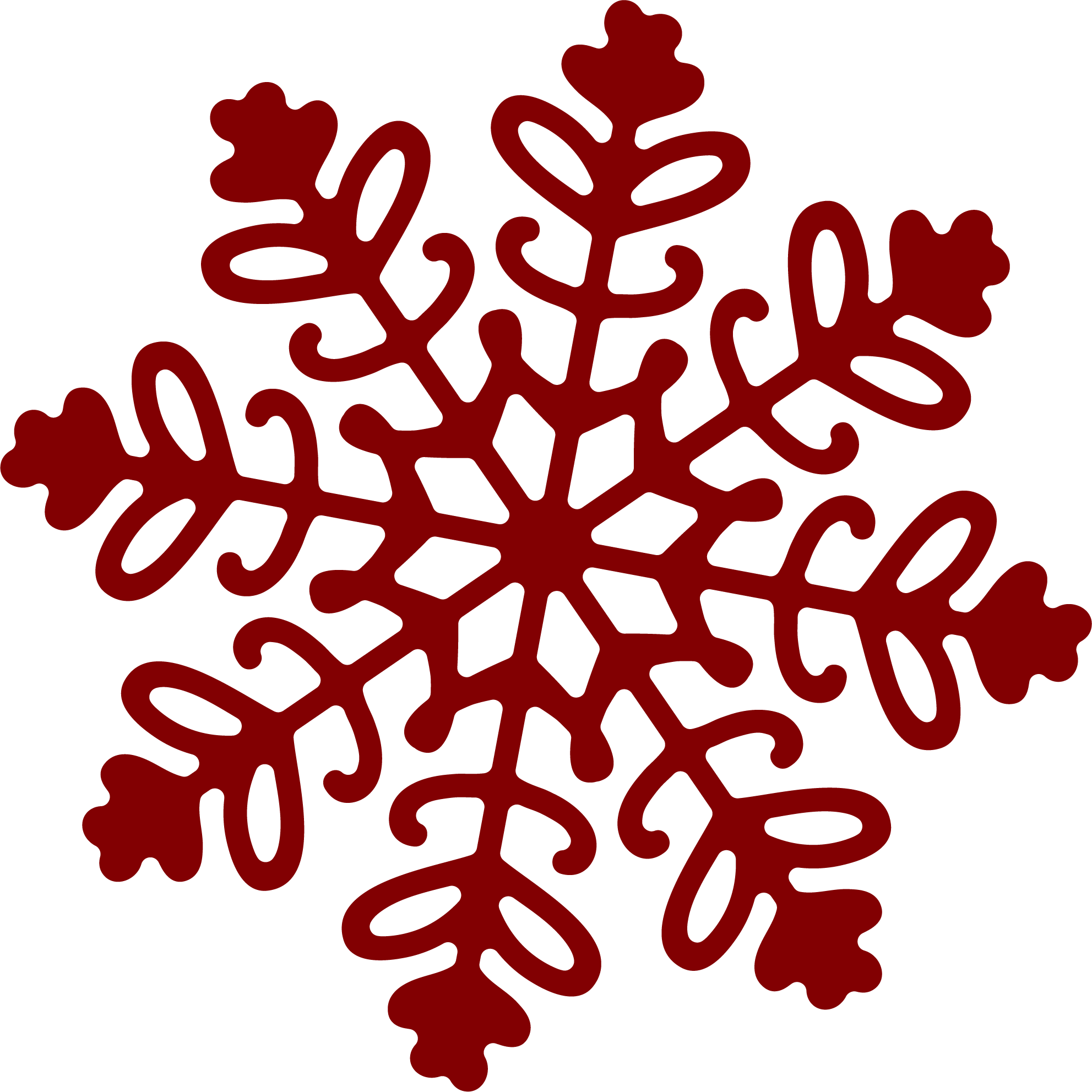Snowflake 1 SVG Cut File