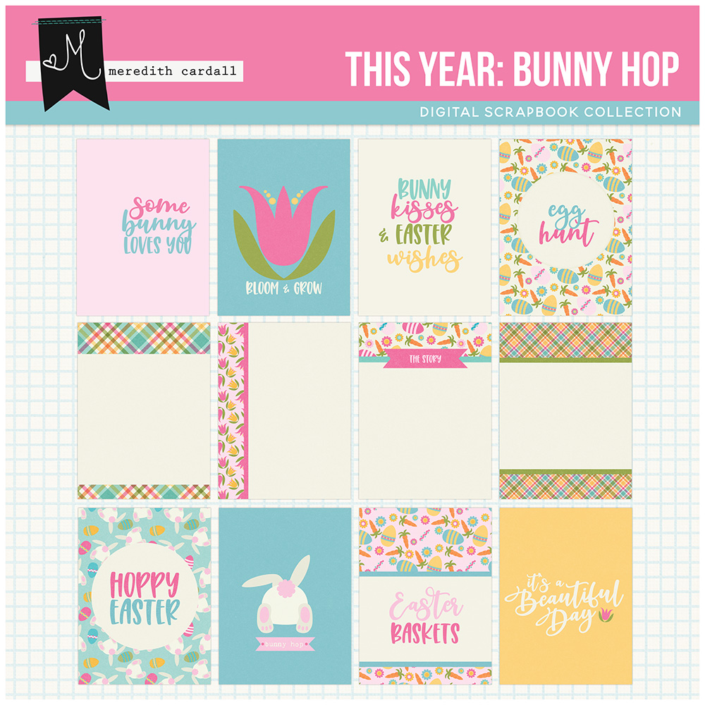 This Year: Bunny Hop Cards