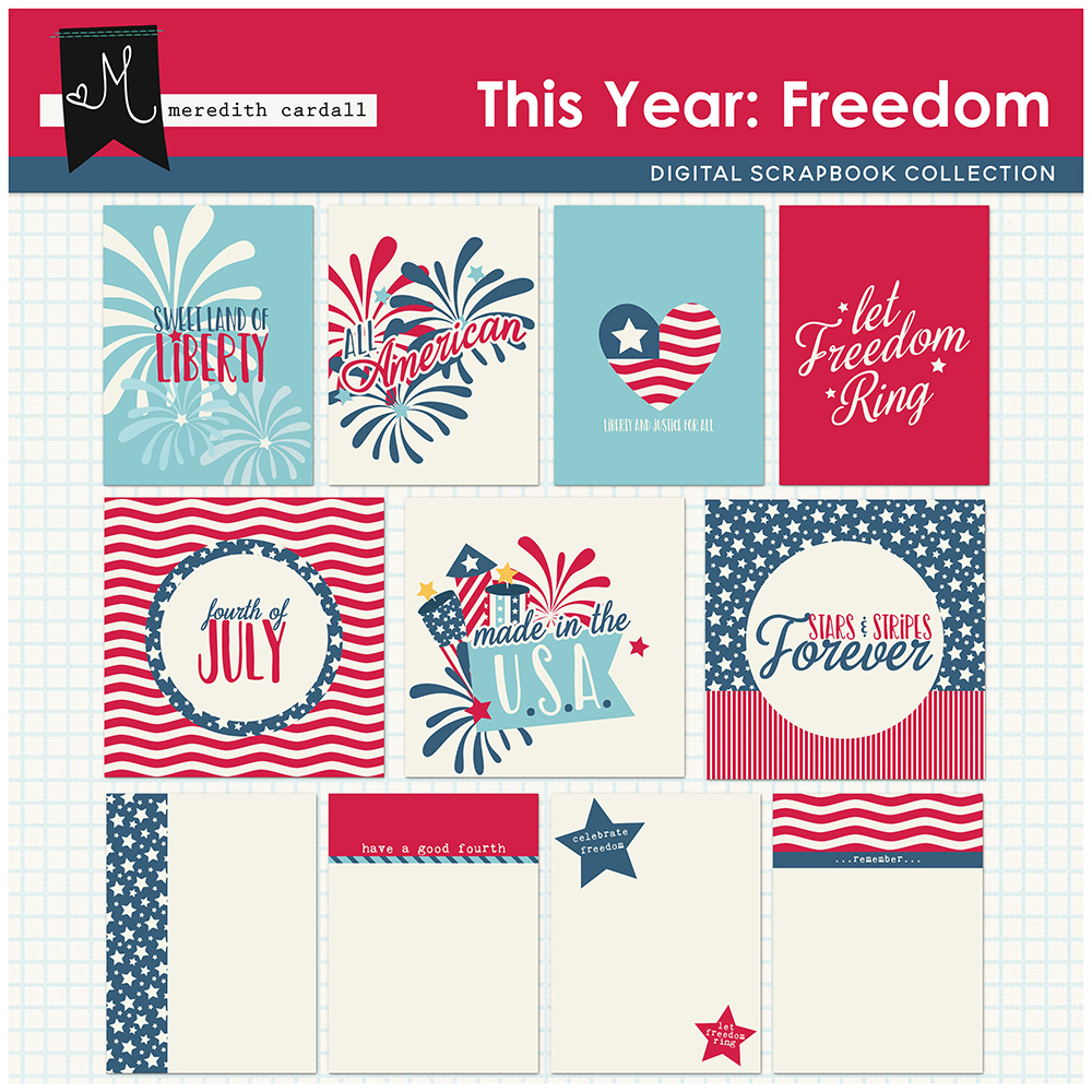 This Year: Freedom Cards