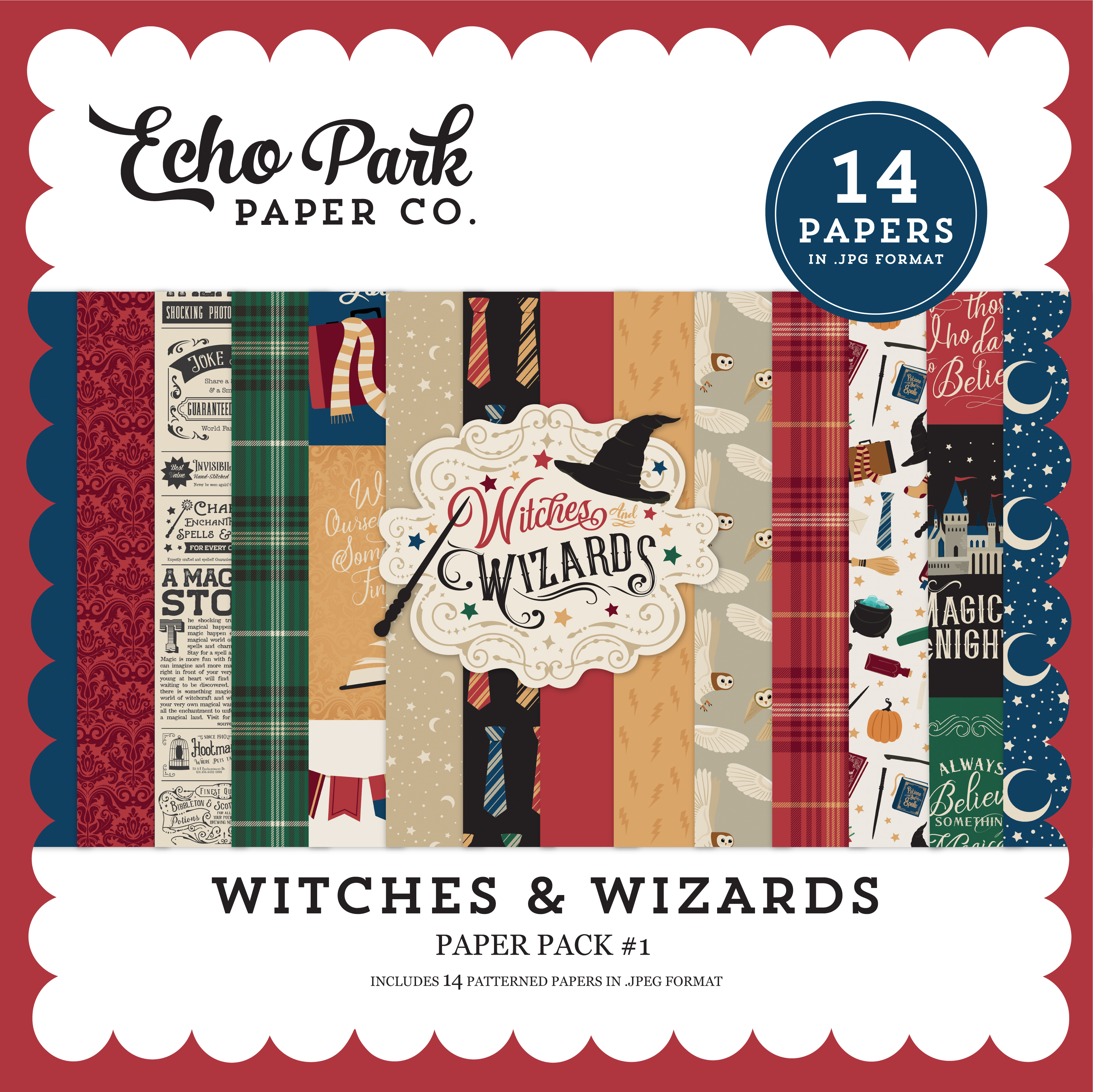 Witches & Wizards Paper Pack #1