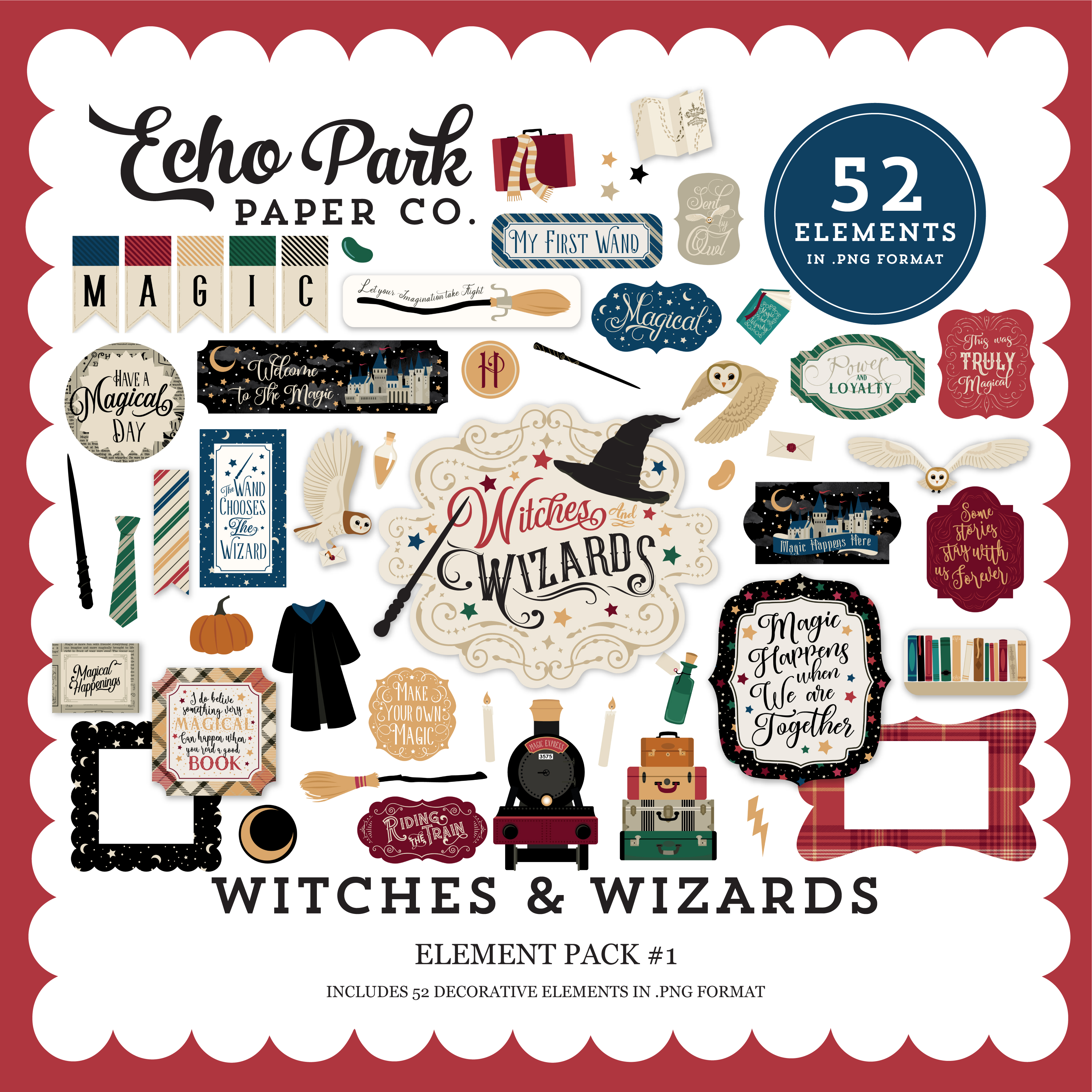 Witches & Wizards Element Pack #1