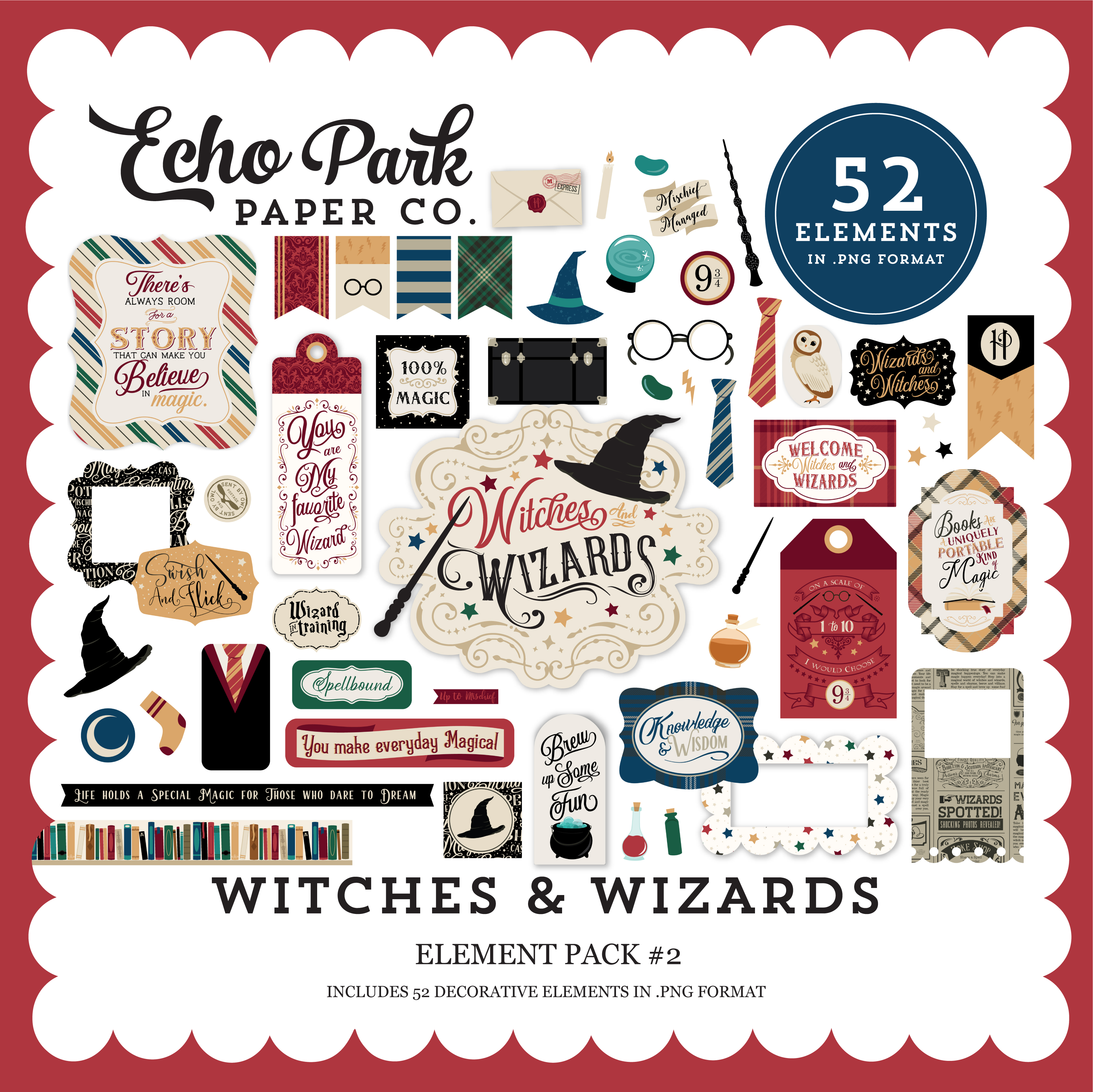 Witches & Wizards Element Pack #2