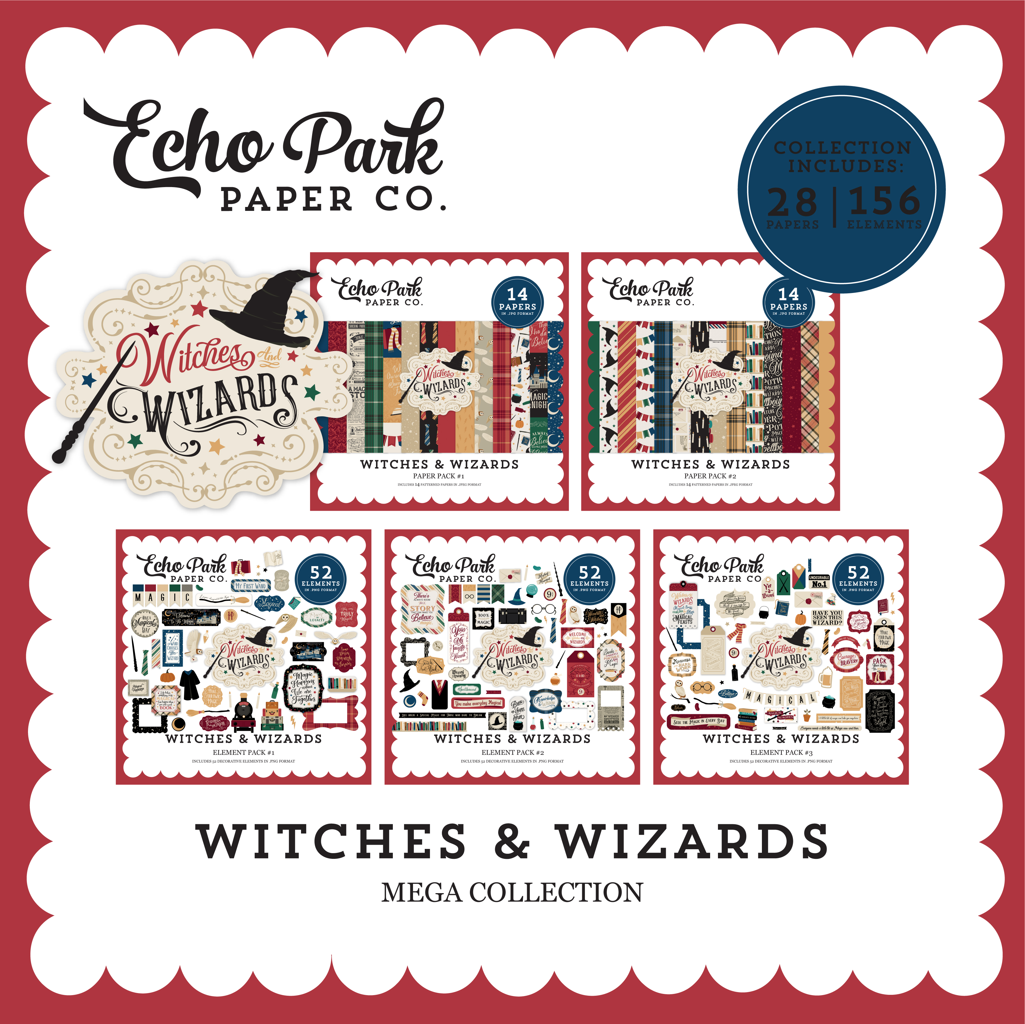Witches & Wizards Mega Collection