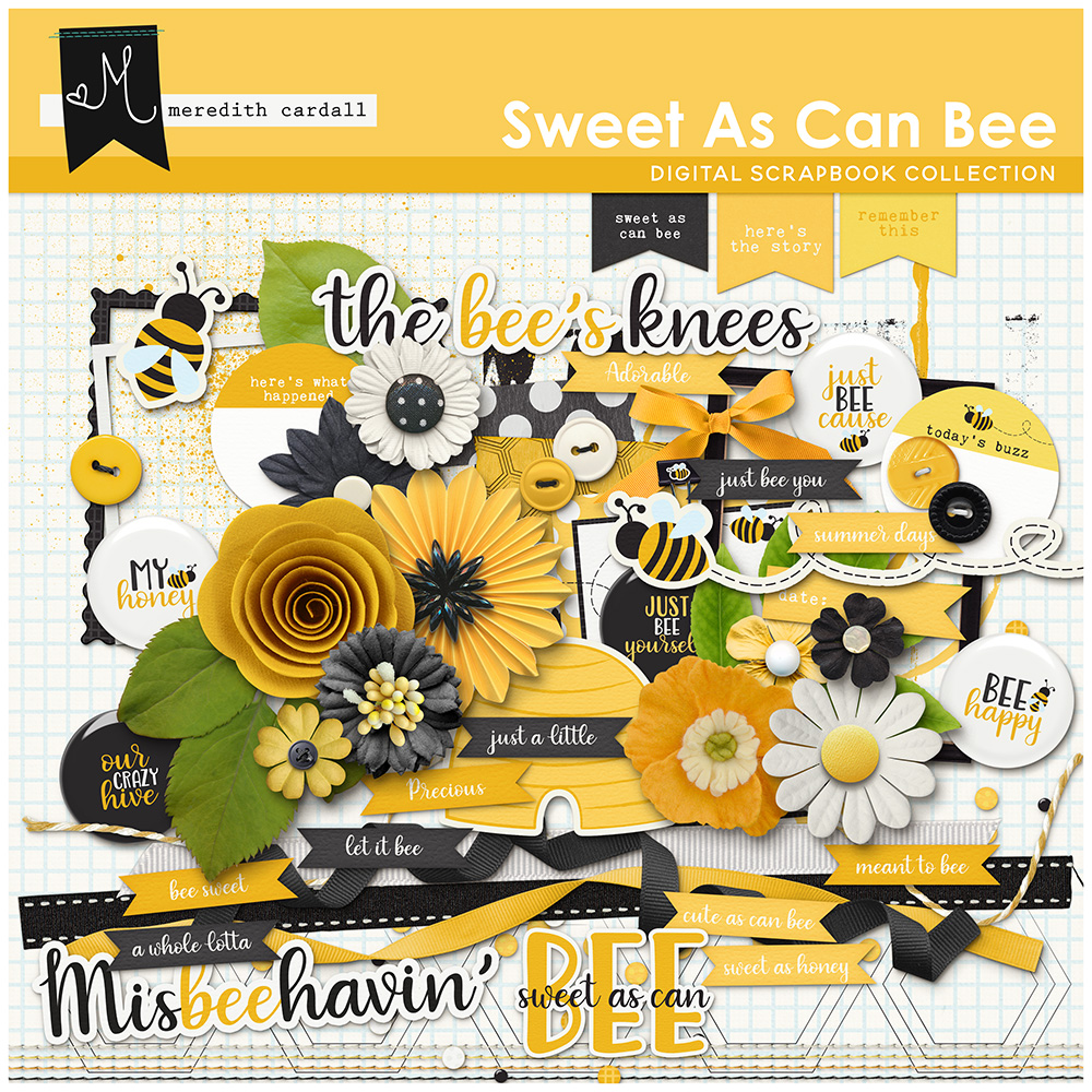 Sweet As Can Bee Element Pack
