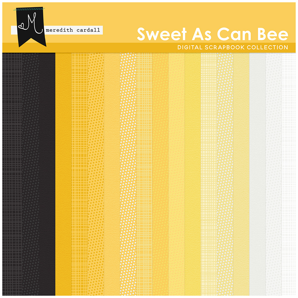 Sweet As Can Bee Paper Pack 2