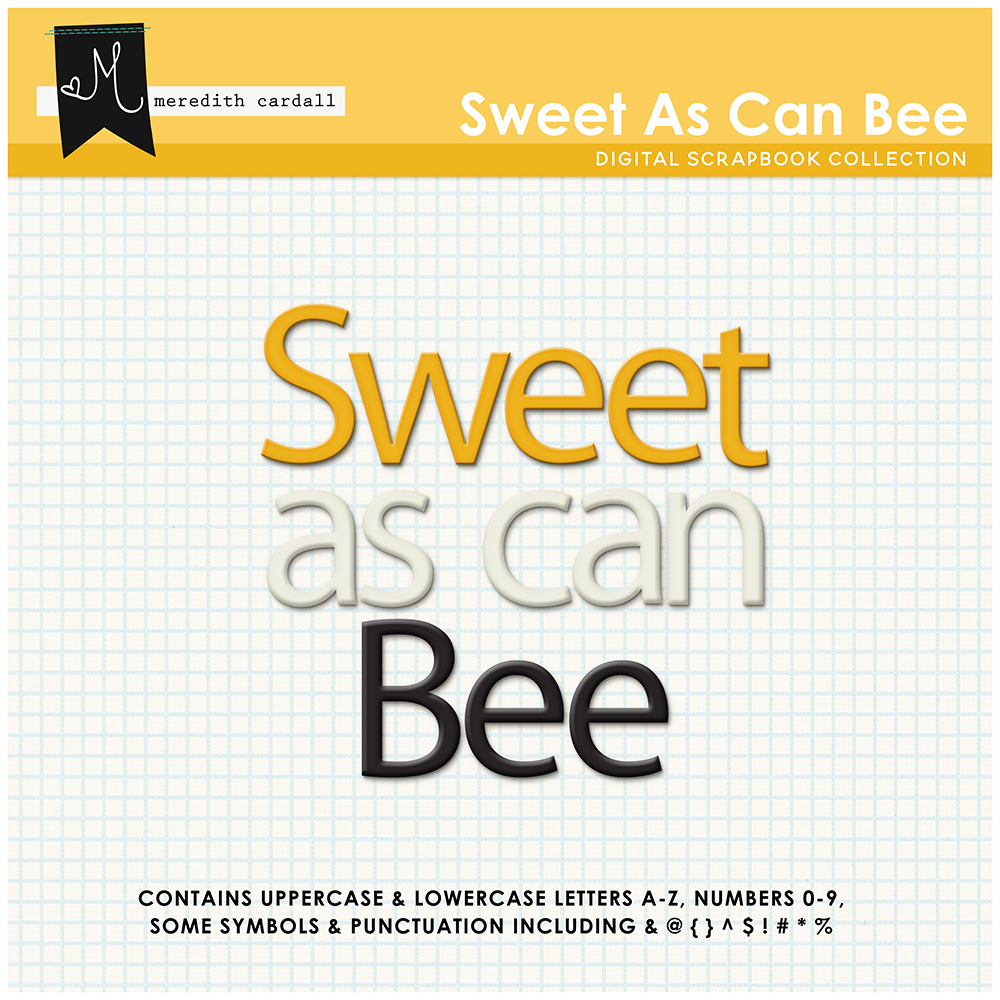 Sweet As Can Bee Collection
