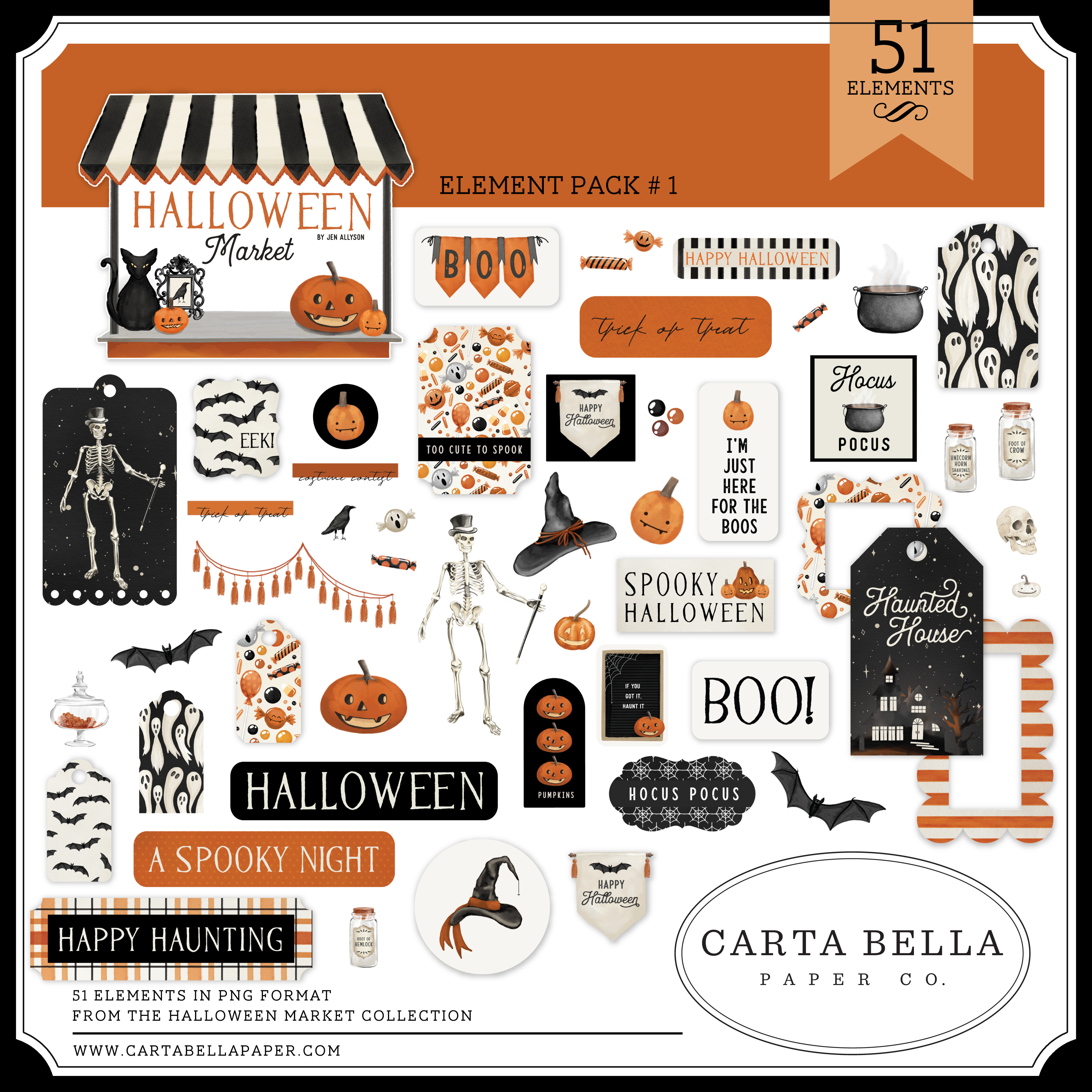 Halloween Market Element Pack #1