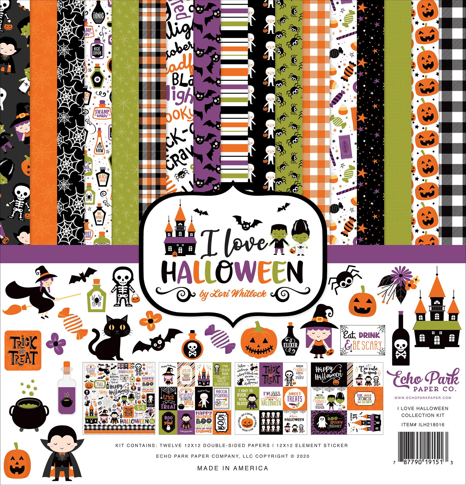 I Love Halloween Collection Kit