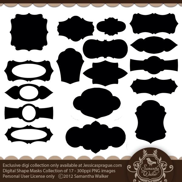 Shape Masks Collection