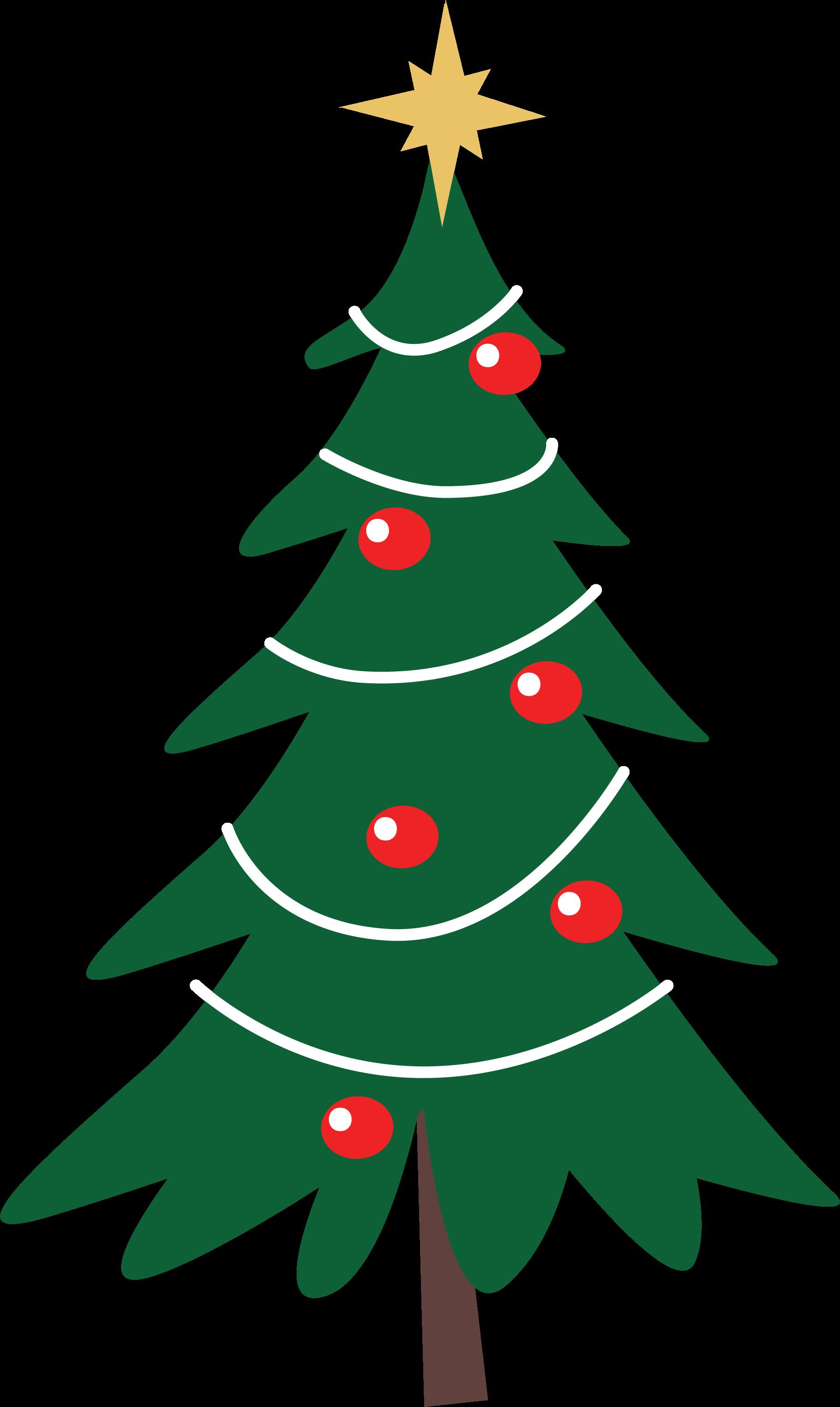 Merry Christmas Christmas Tree SVG Cut File