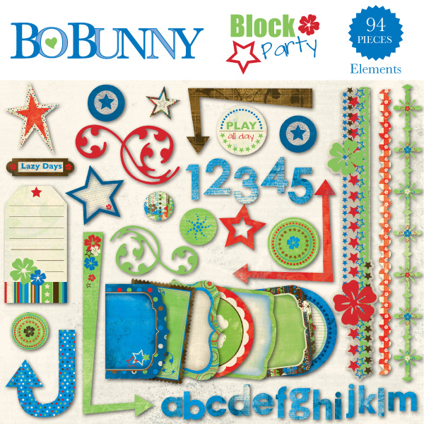 Block Party Embellishment Pack