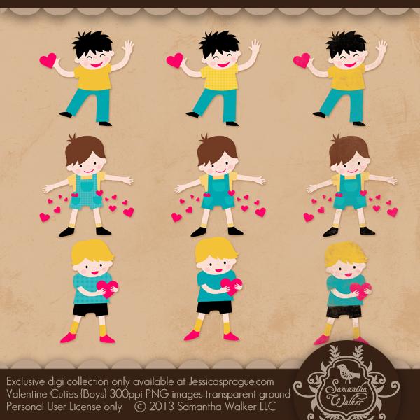 Valentine Cuties (Boys)