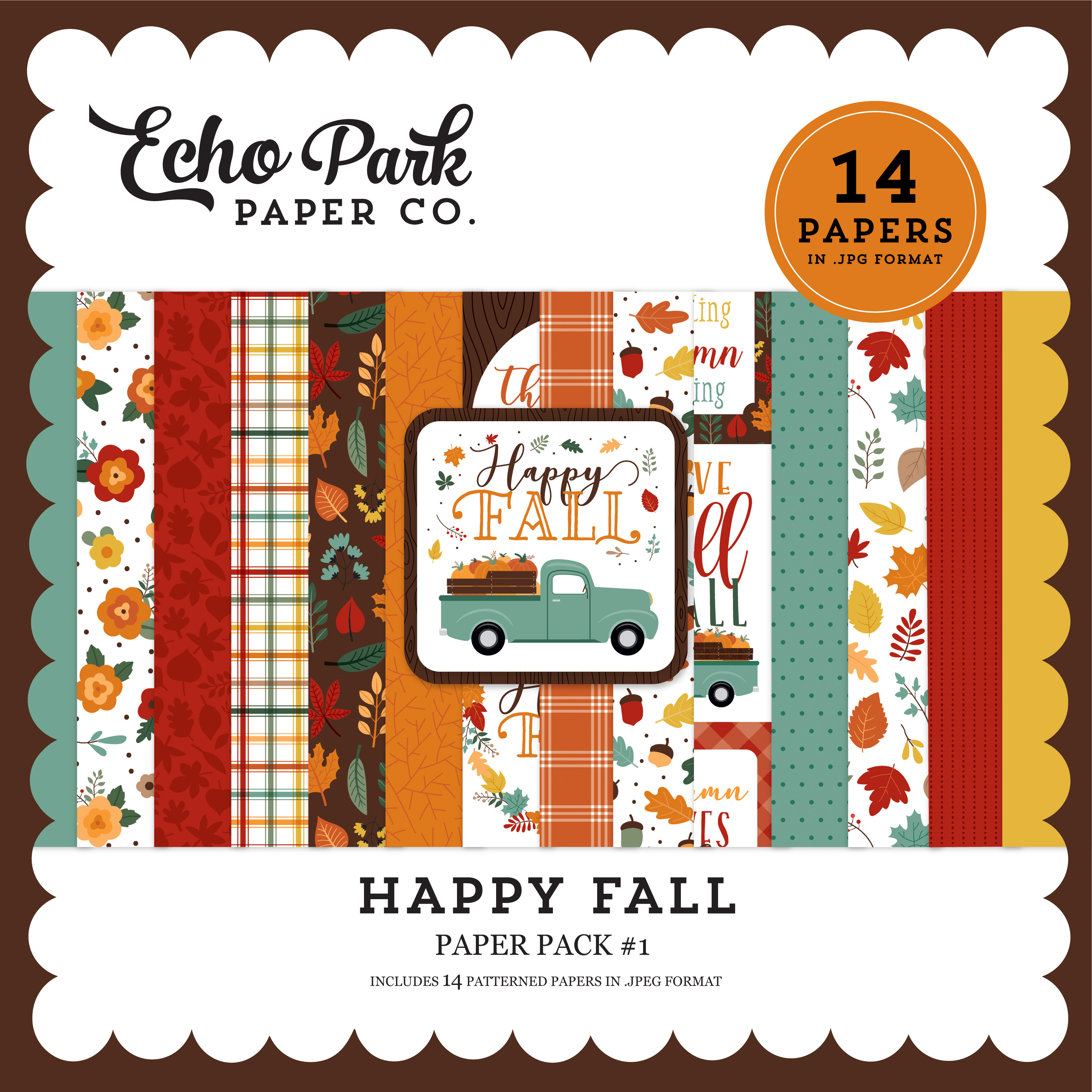 Happy Fall Paper Pack #1