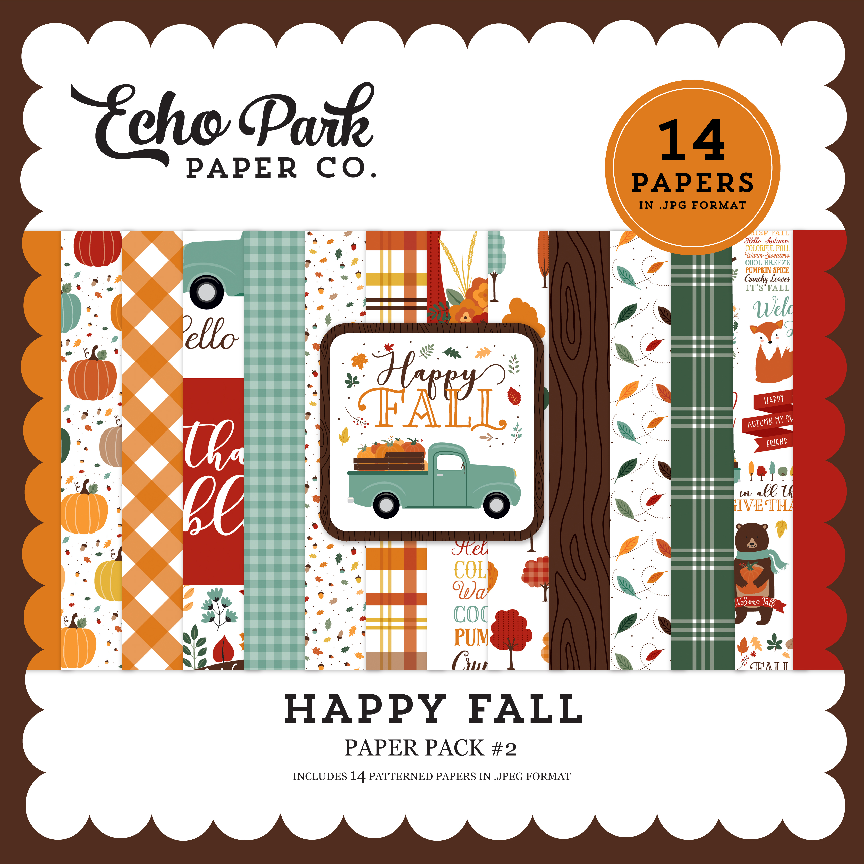Happy Fall Paper Pack #2