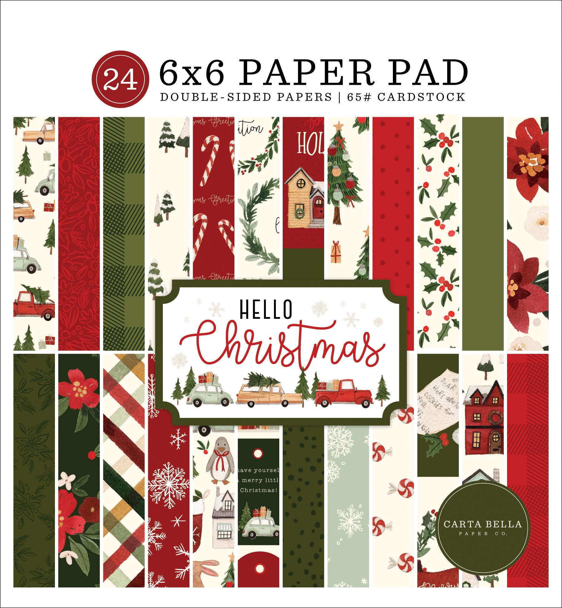 Hello Christmas 6x6 Paper Pad