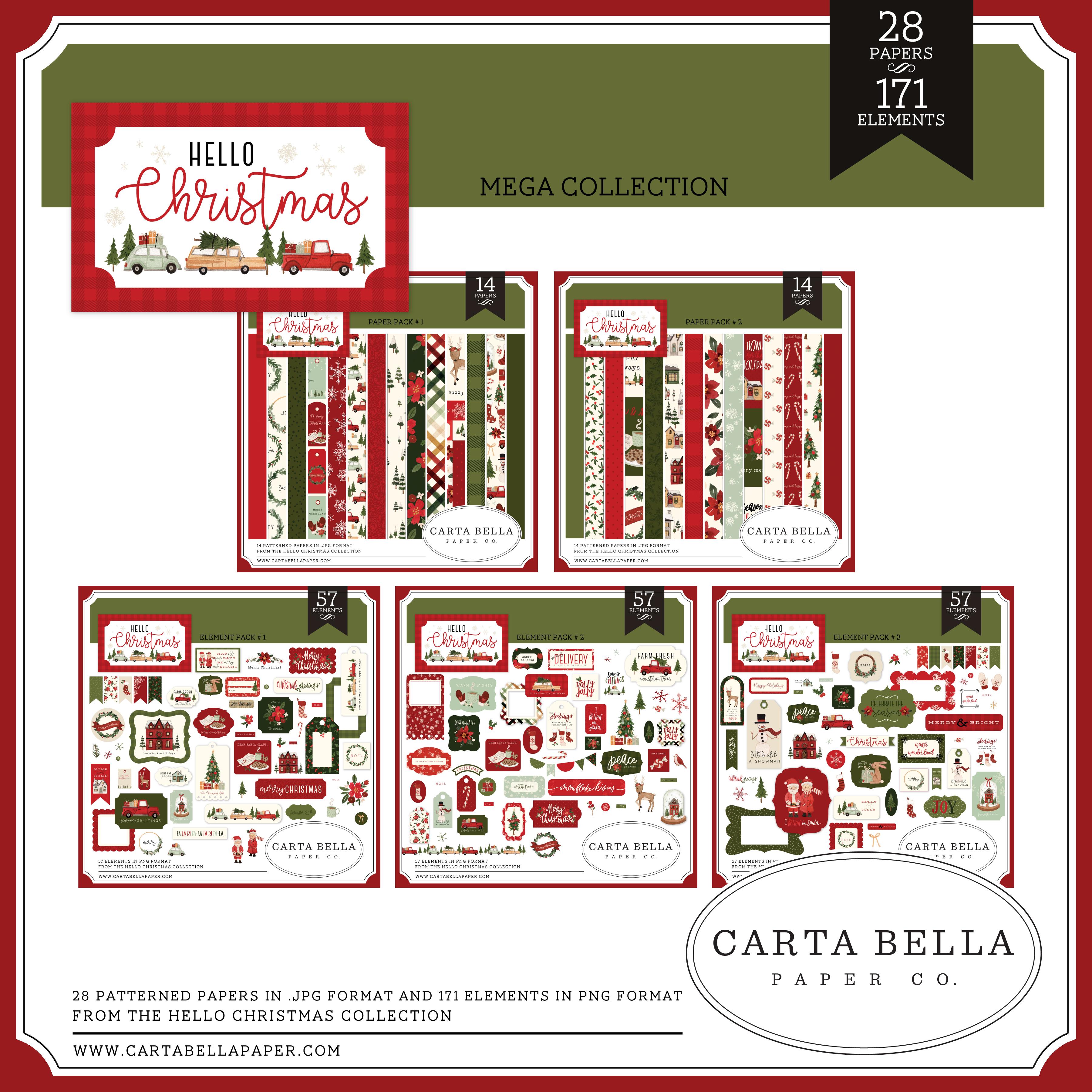 Hello Christmas Mega Collection