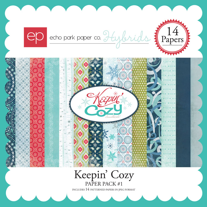 Keepin' Cozy Paper Pack #1