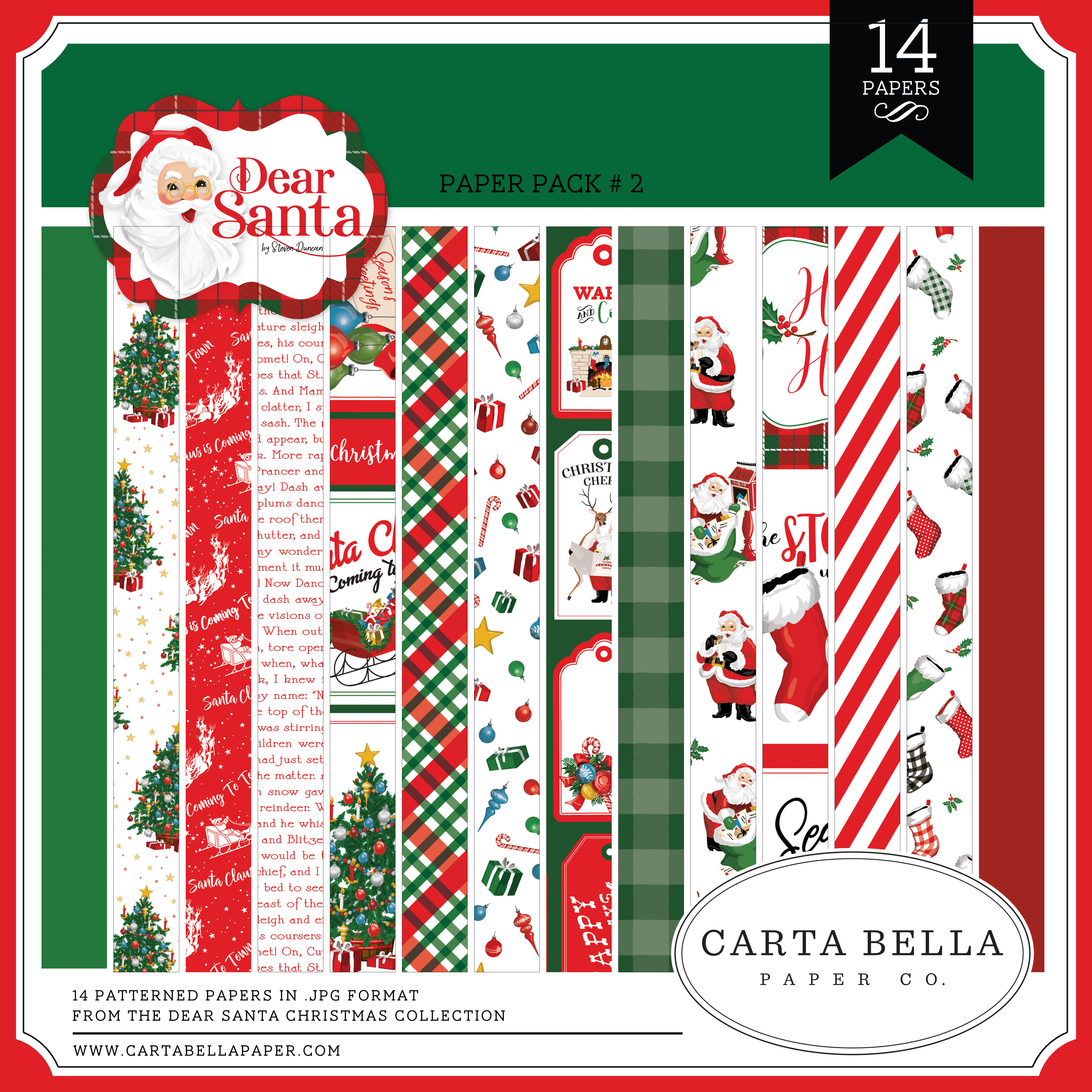 Dear Santa Paper Pack #2